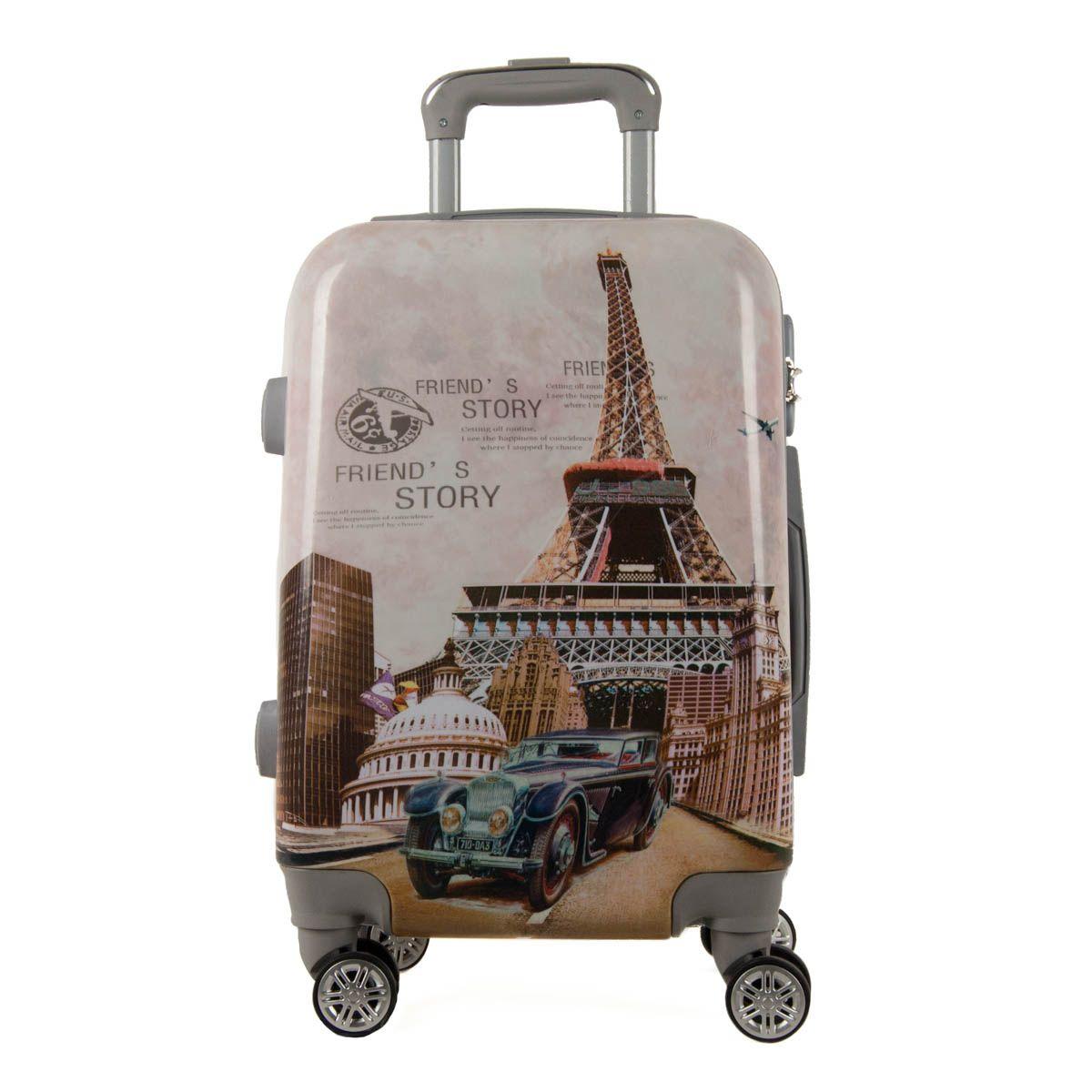 Montevita Abs Suitcase in Multicolour