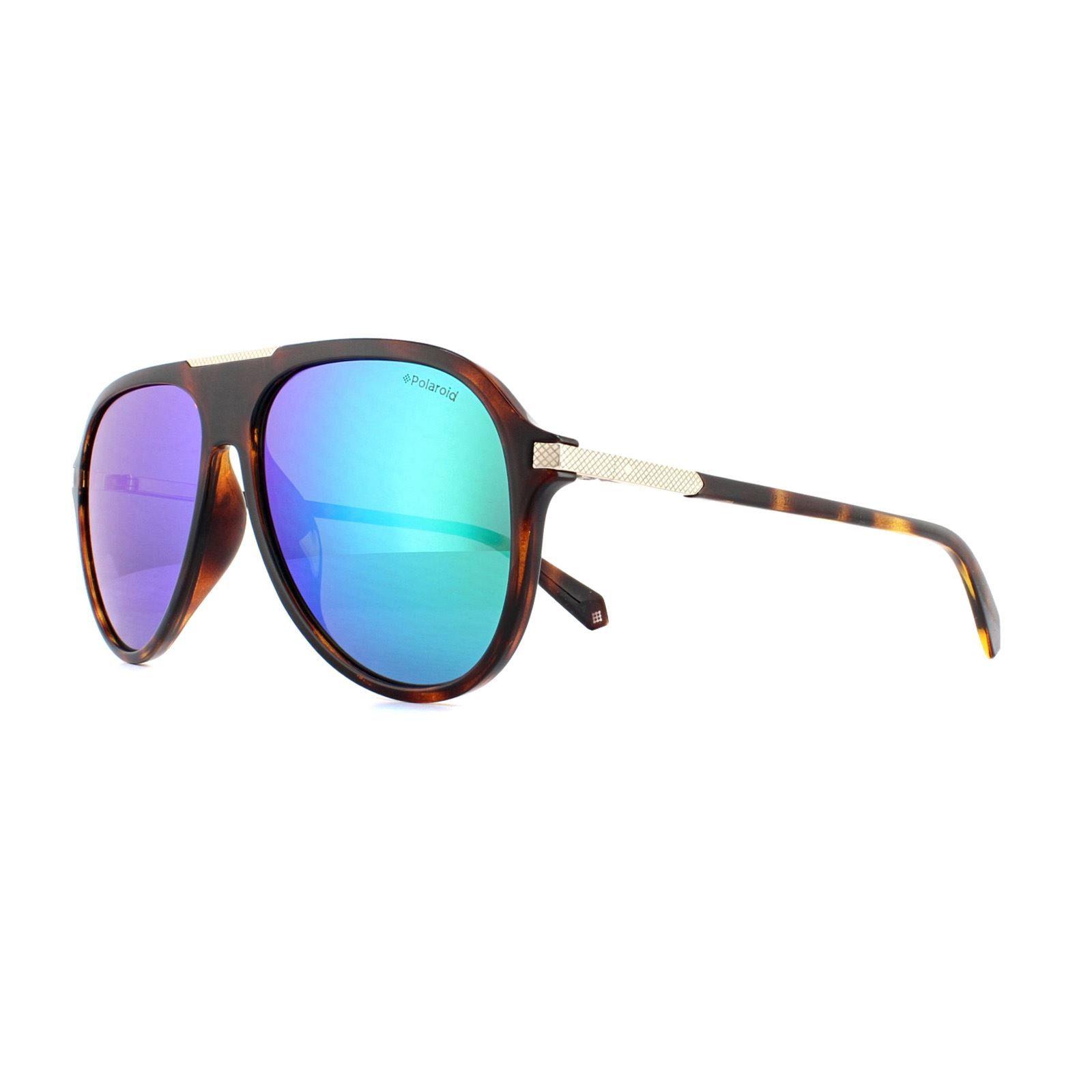 Polaroid Sunglasses PLD 2071/G/S/X 086 5Z Tortoiseshell Green Polarized