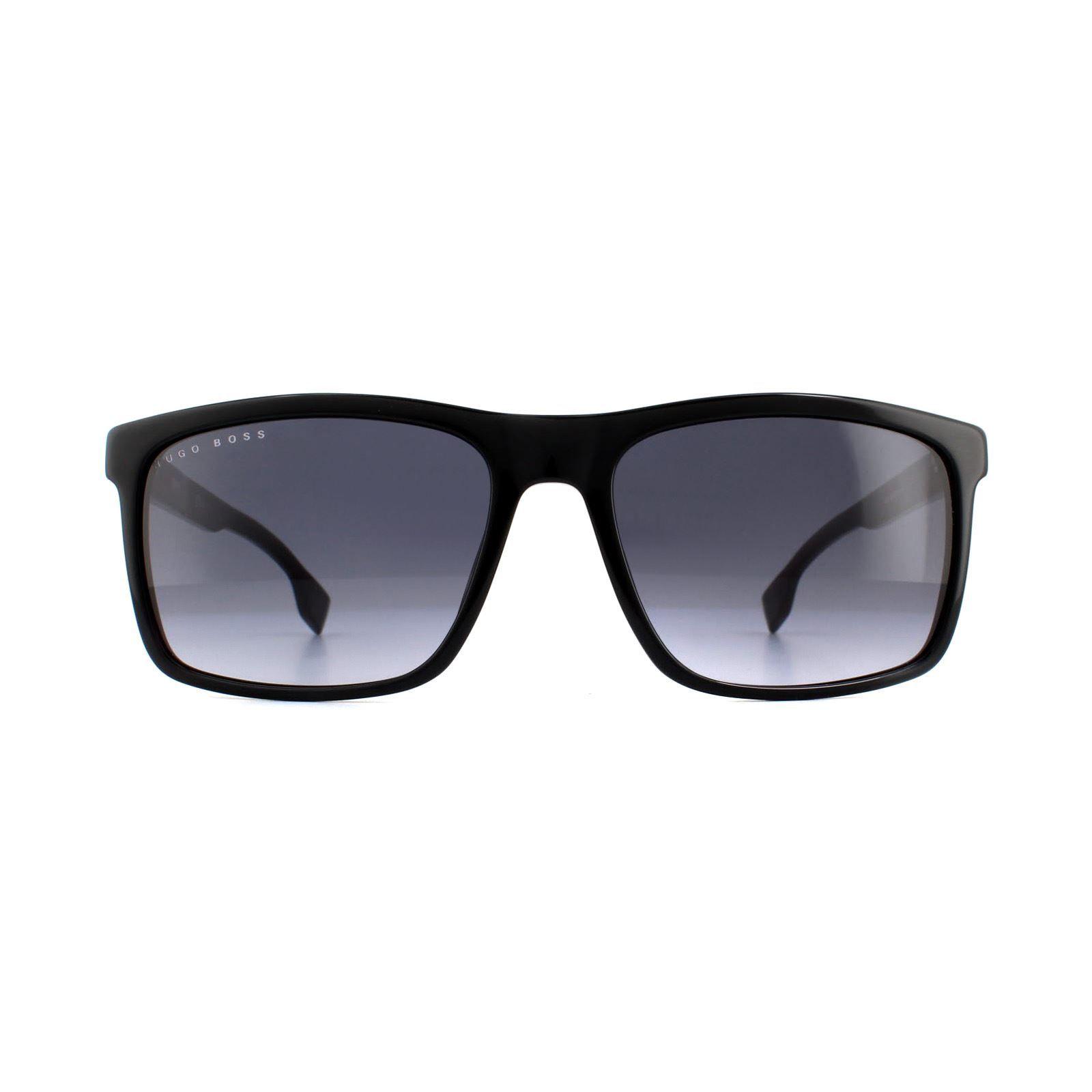 Hugo Boss Sunglasses 1036/S 807 9O Black Grey