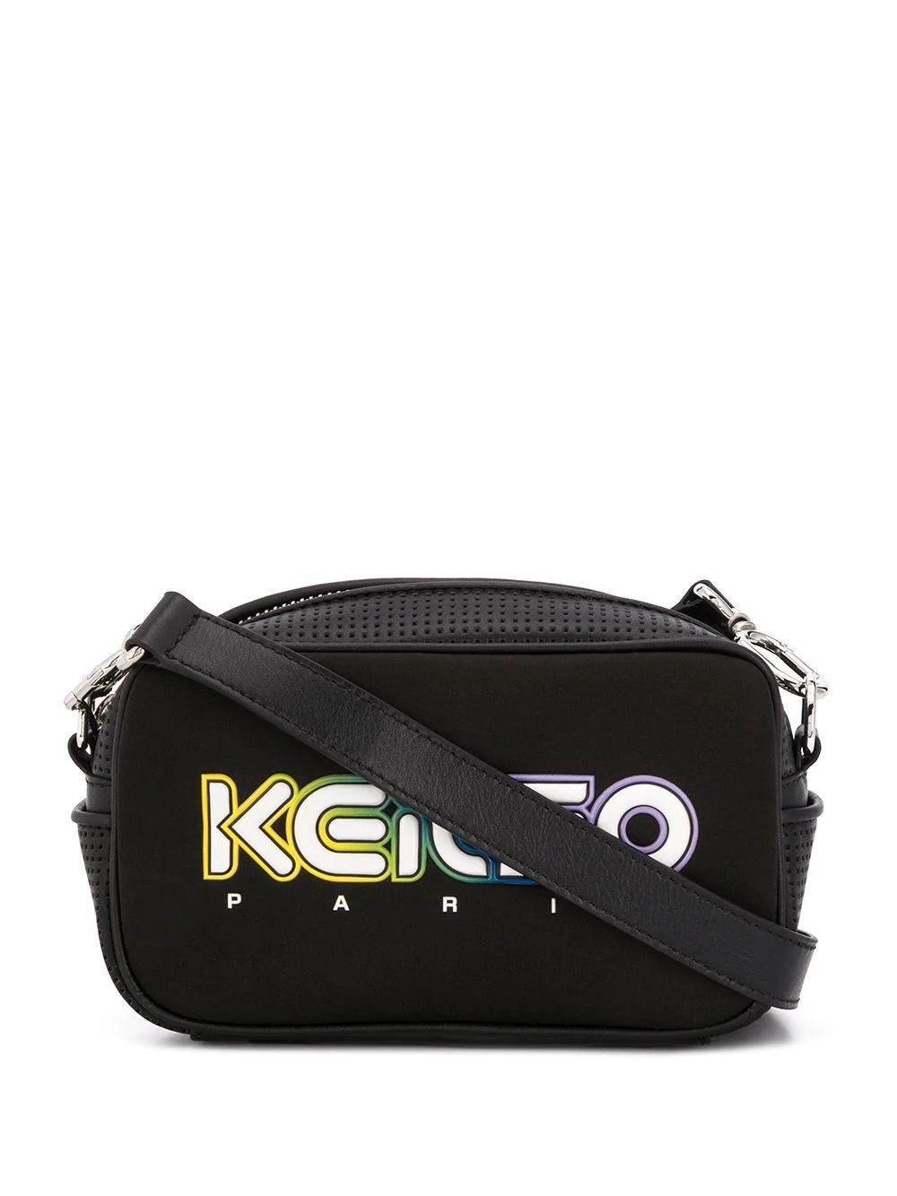 KENZO WOMEN'S FA52SA406F0199 BLACK SYNTHETIC FIBERS SHOULDER BAG