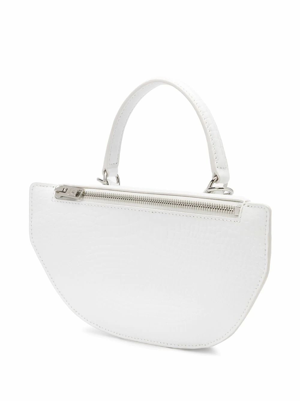ALEXANDER WANG WOMEN'S 20C120R148100 WHITE LEATHER HANDBAG