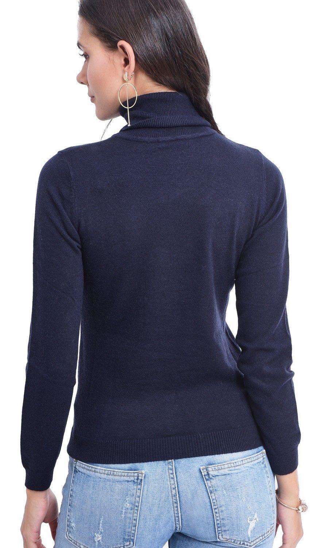 Assuili Turtleneck Sweater in Navy