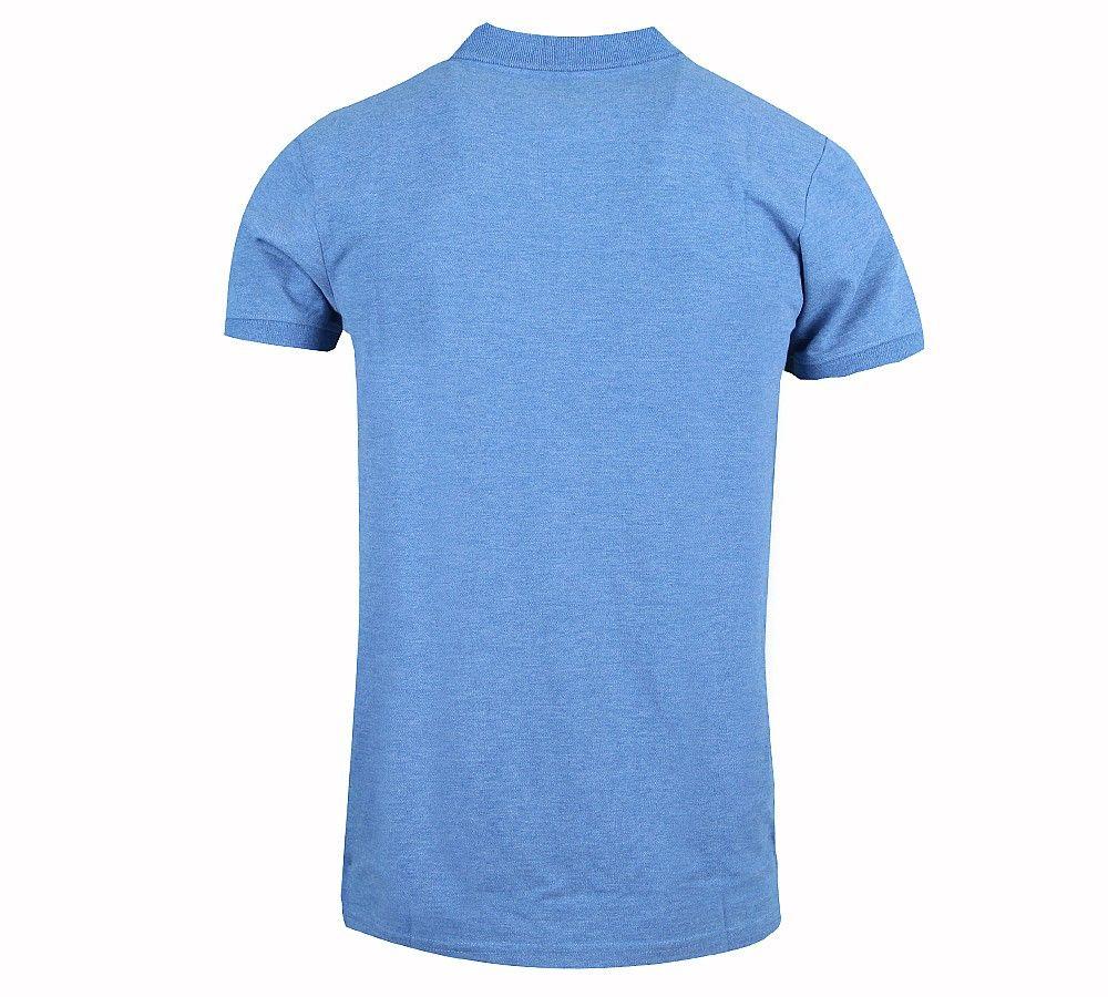 Jack and Jones Athletic Polo Light Blue Polo Shirt