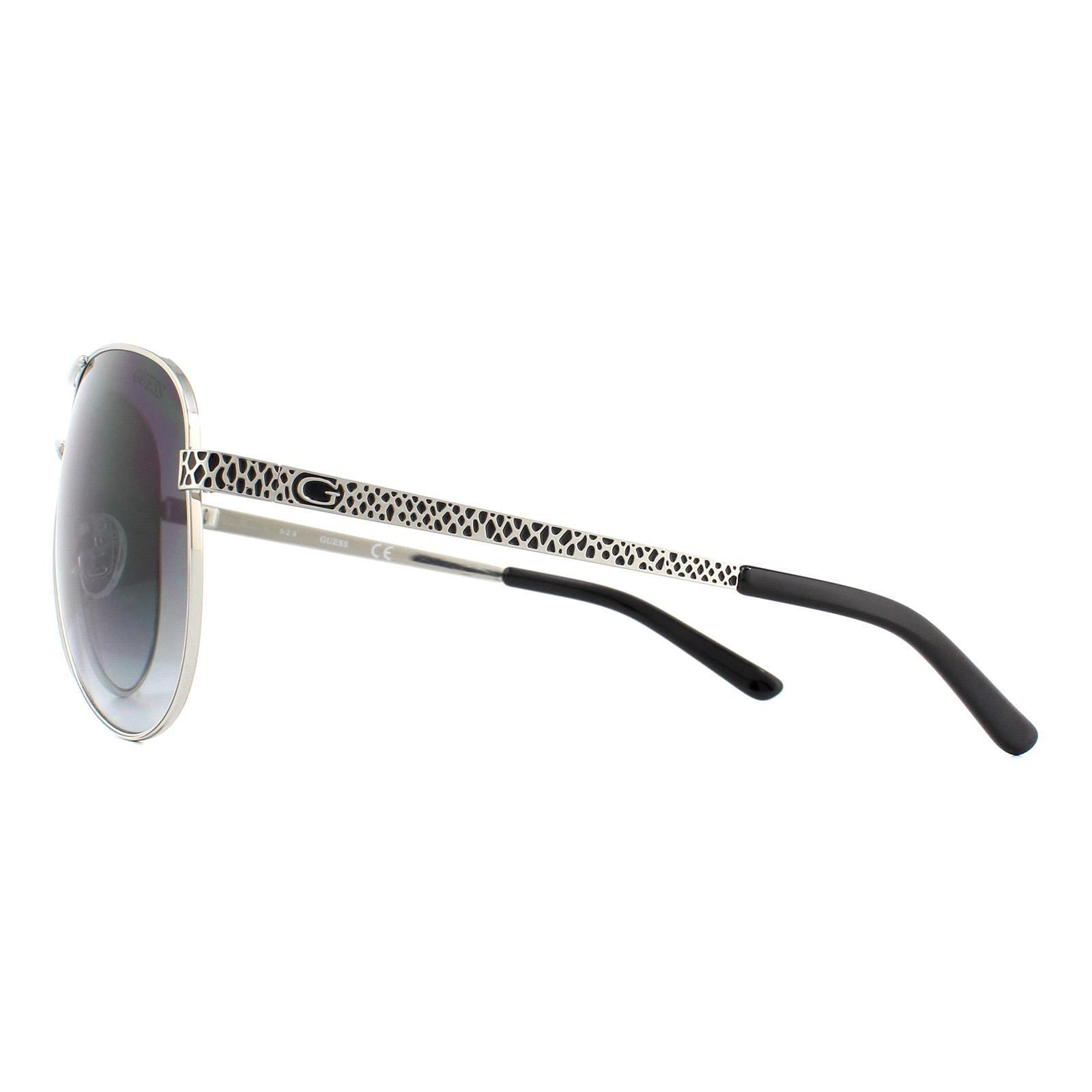 Guess Sunglasses GU7370 A87 Silver Grey Gradient