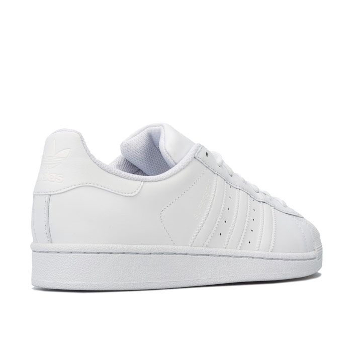 Men's adidas Originals Superstar Foundation Trainers in White