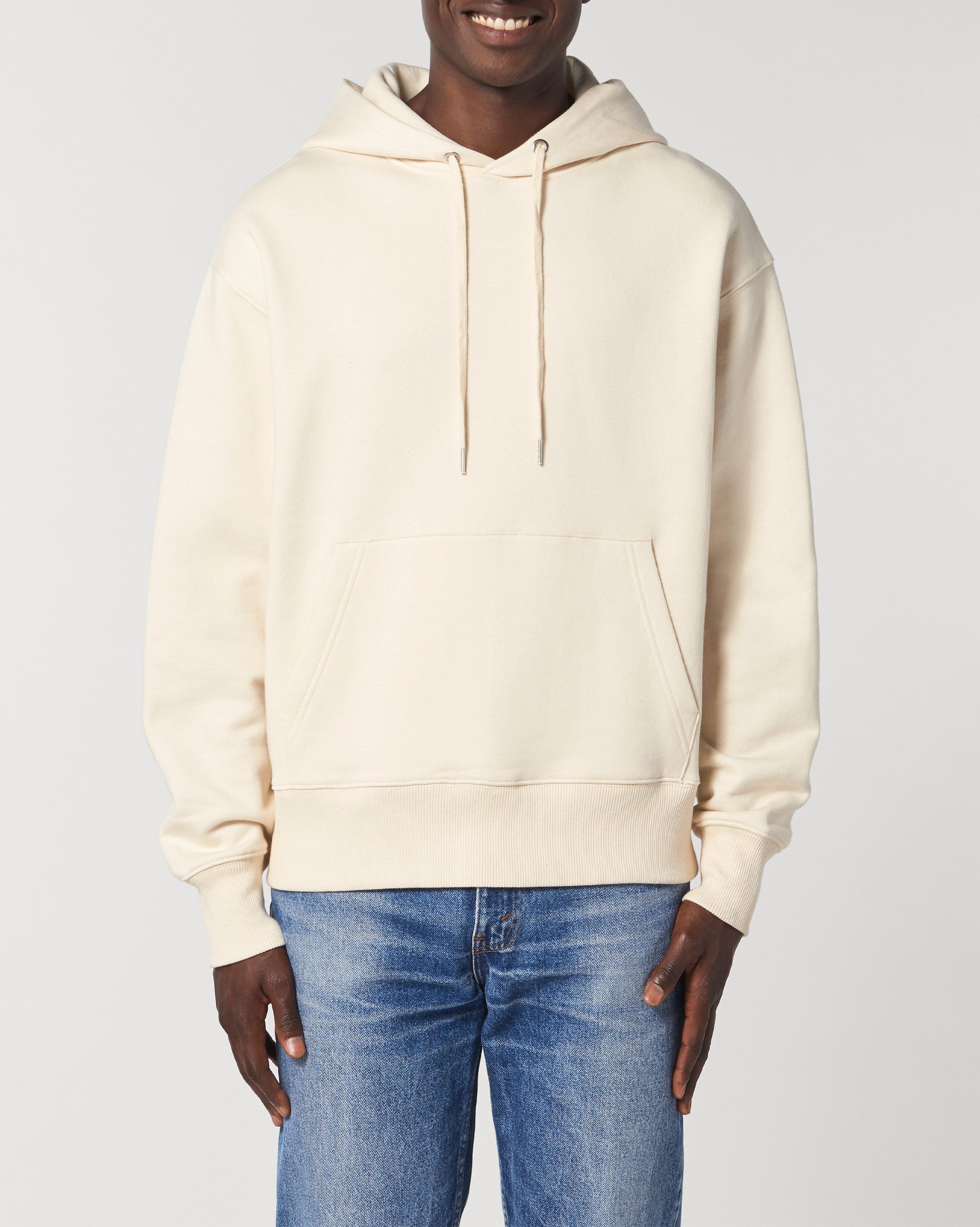 Karma Unisex Relaxed Hoodie in Natural