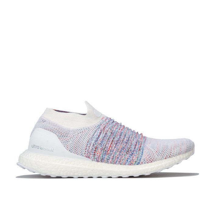 Men's adidas Ultraboost Laceless Trainers in White