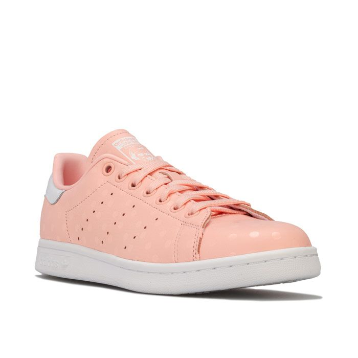 Women's adidas Originals Stan Smith Trainers in Coral