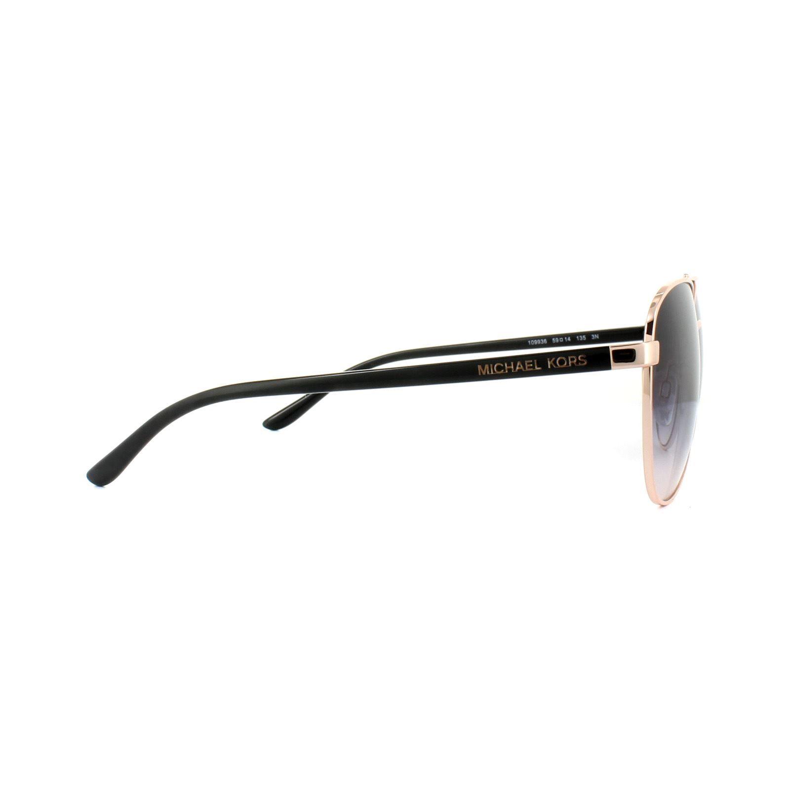 Michael Kors Sunglasses Hvar 5007 109936 Rose Gold Brown Gradient