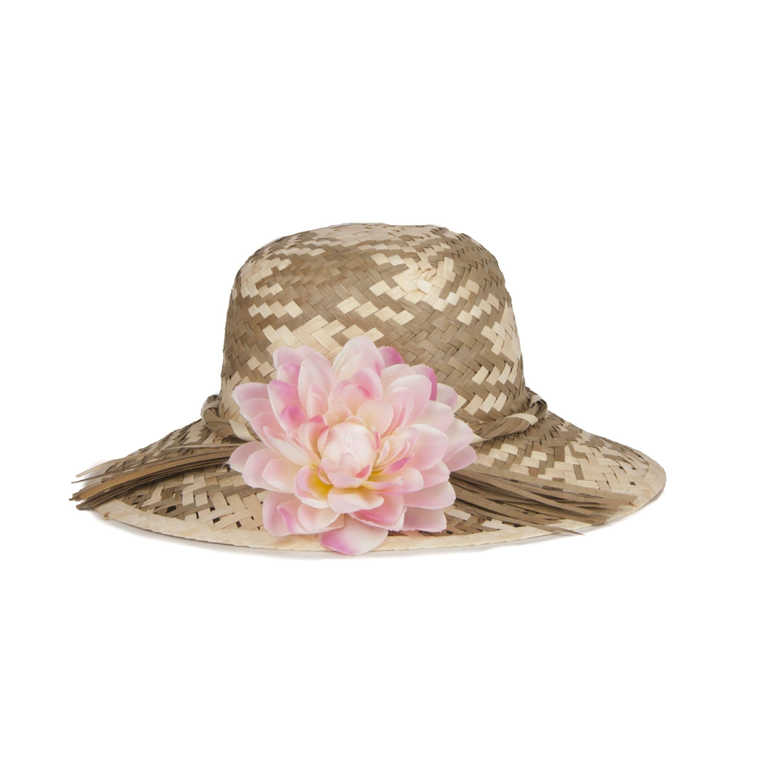 Maria Graor Artisanal Hat in Beige