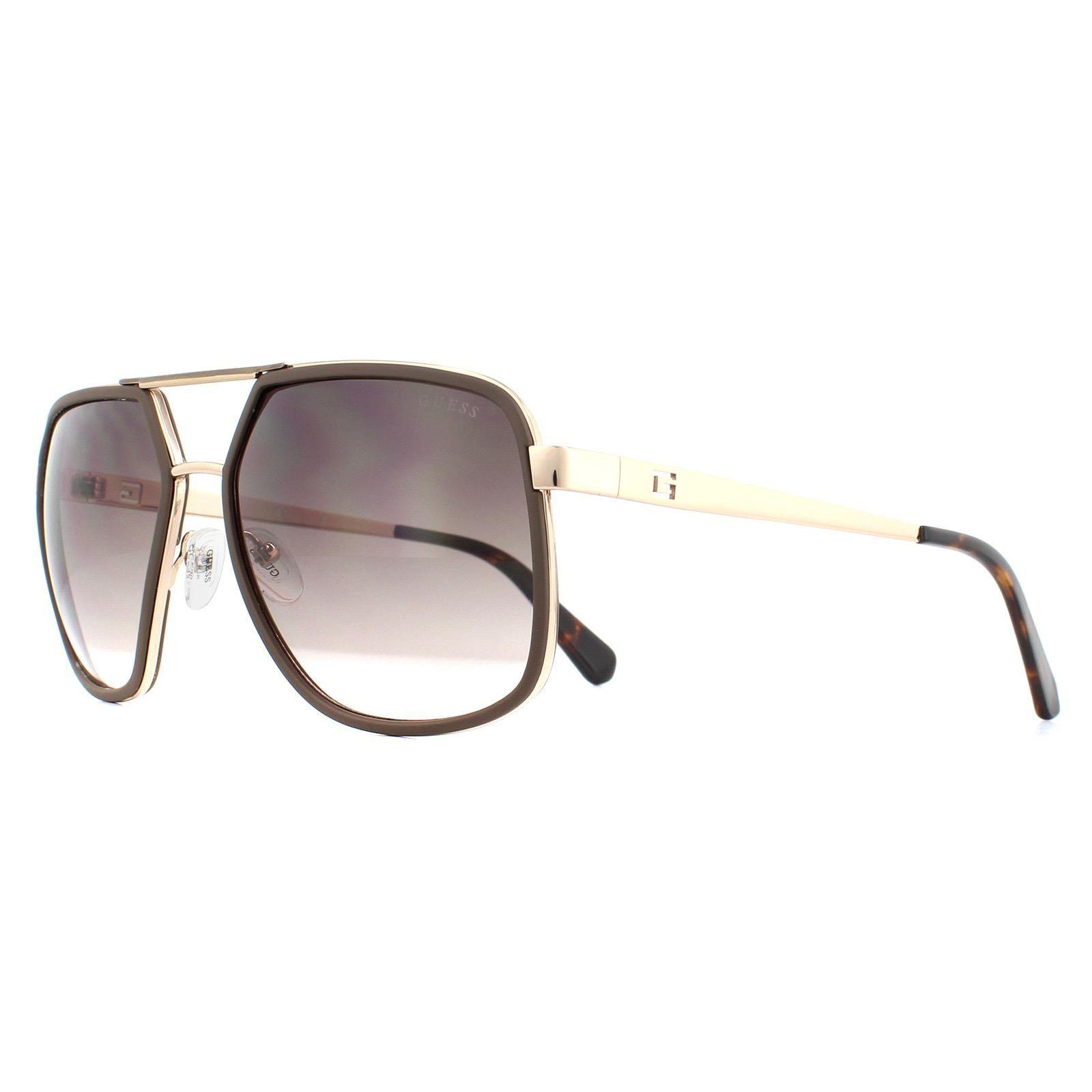 Guess Sunglasses GU6978 50F Dark Havana Brown Gradient