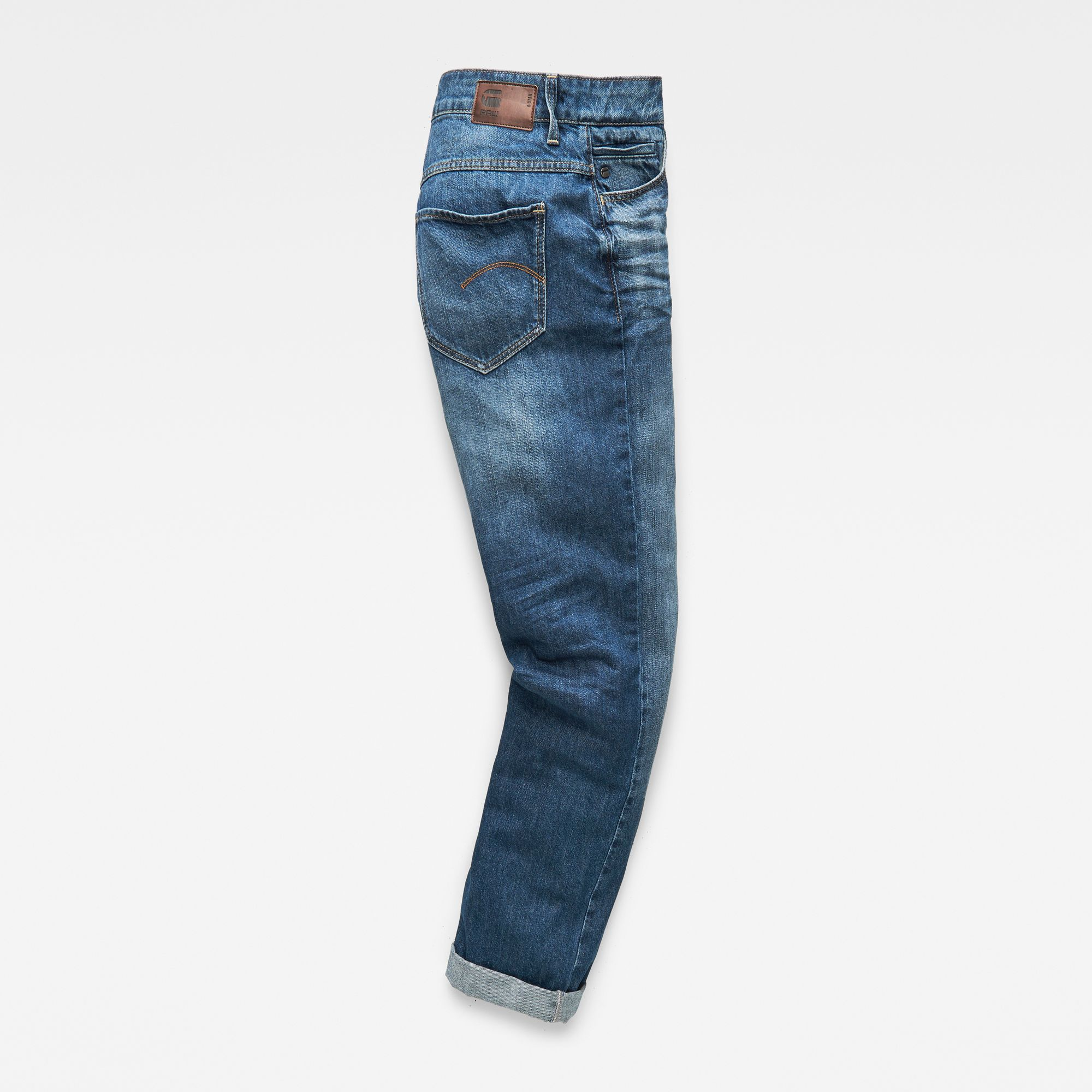 G-Star RAW Midge Deconstructed High Waist Boyfriend Jeans
