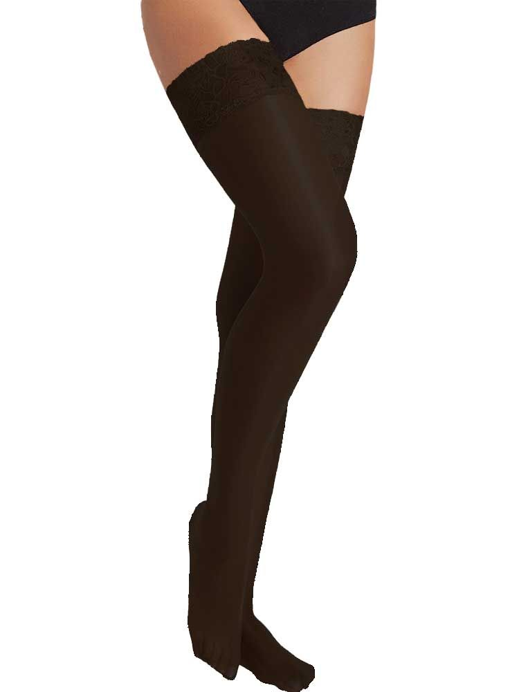 15 Denier Lace Top Hold Ups