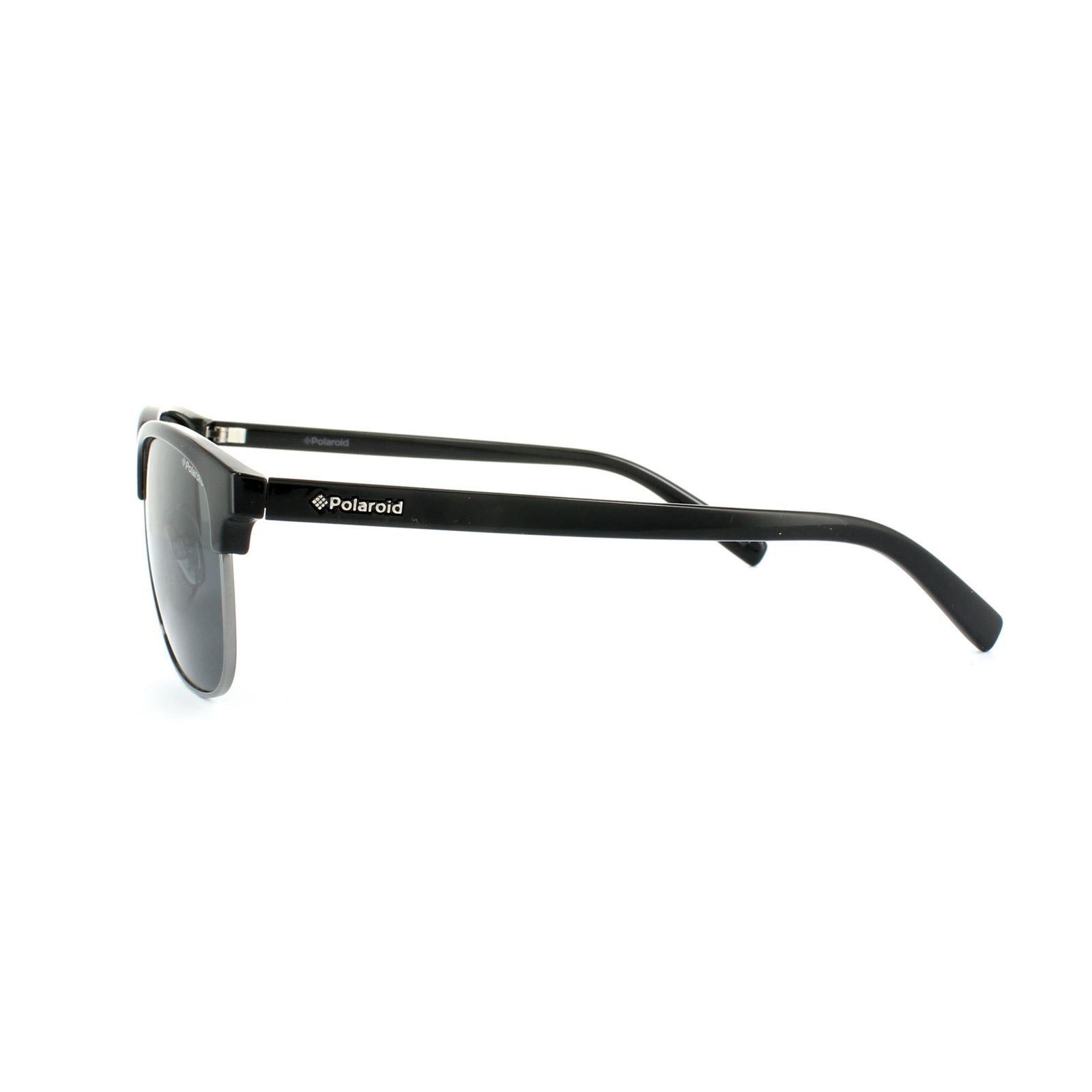 Polaroid Sunglasses 1012/S CVL Y2 Dark Ruthenium Grey Grey Polarized