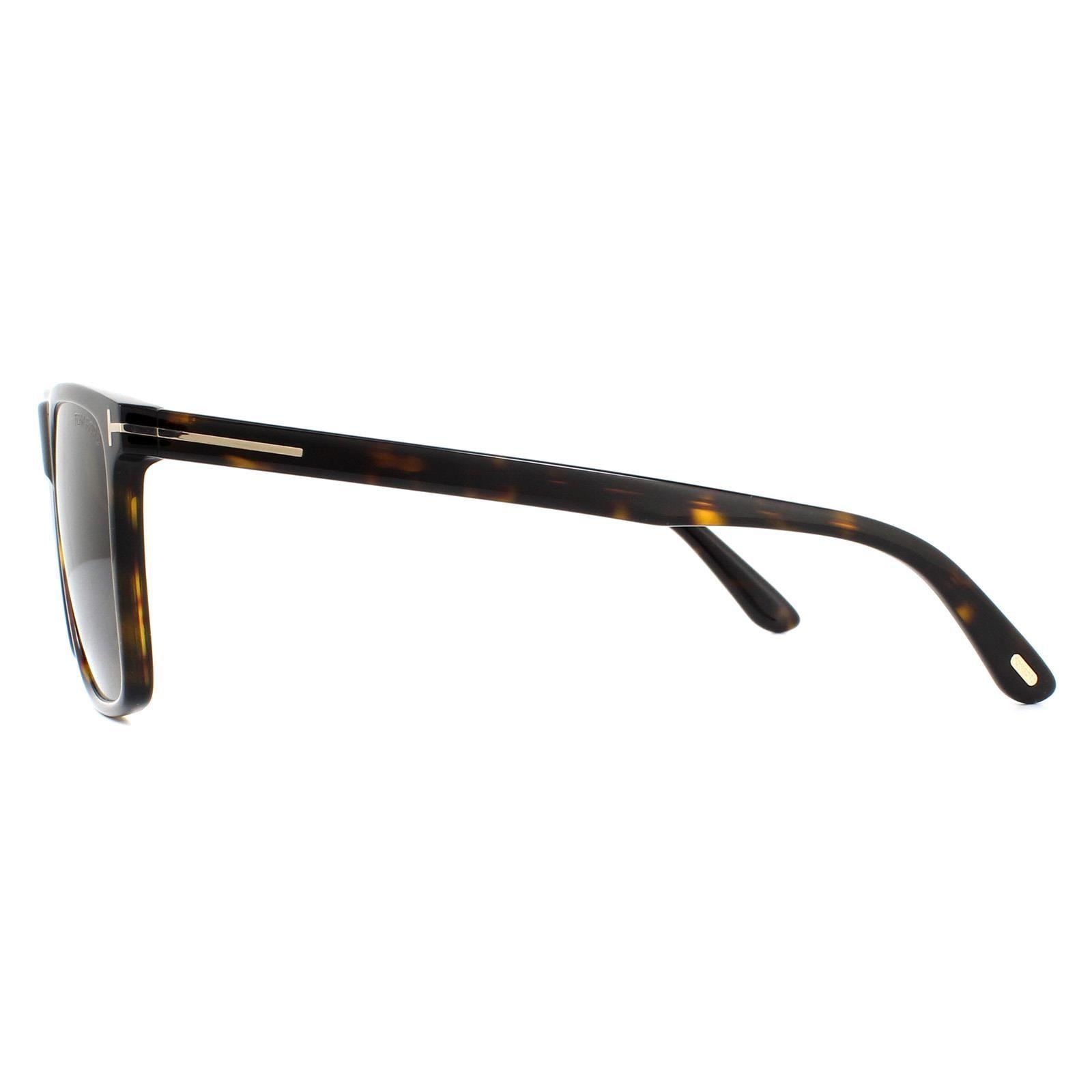 Tom Ford Sunglasses Fletcher FT0832 52J Dark Havana Roviex Brown