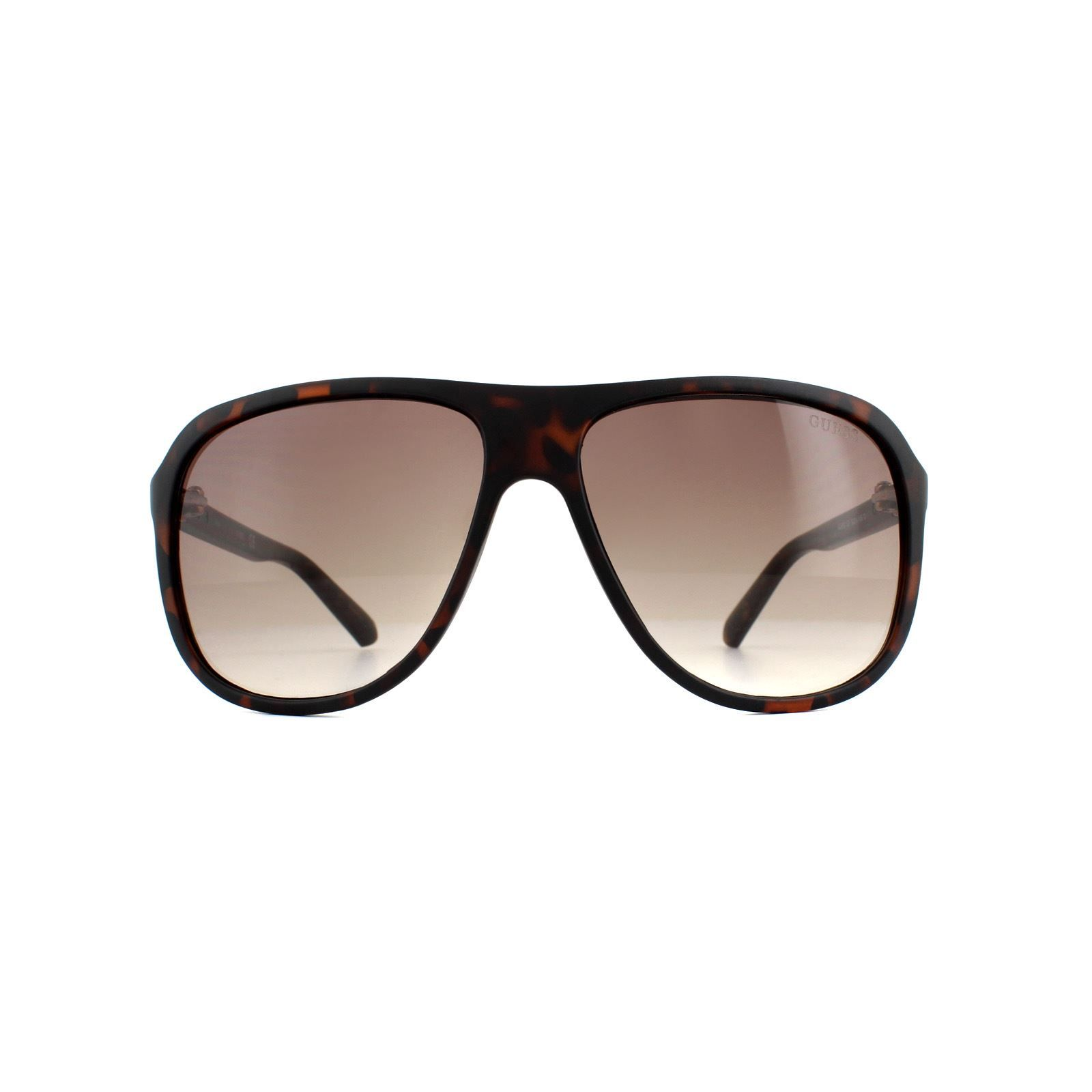 Guess Sunglasses GU6876 52F Tortoiseshell Brown Gradient