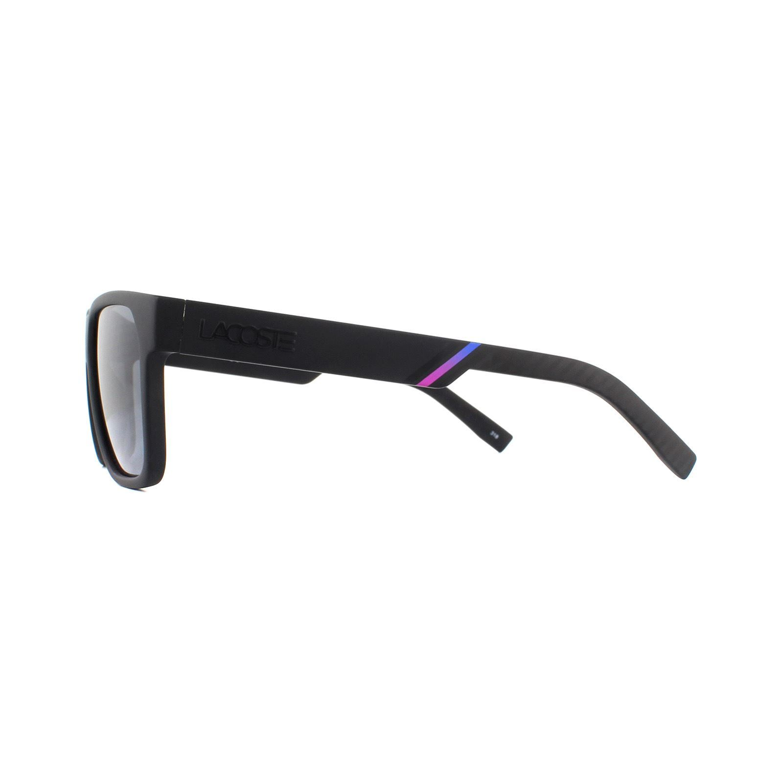Lacoste Sunglasses L867S 002 Matte Black Grey