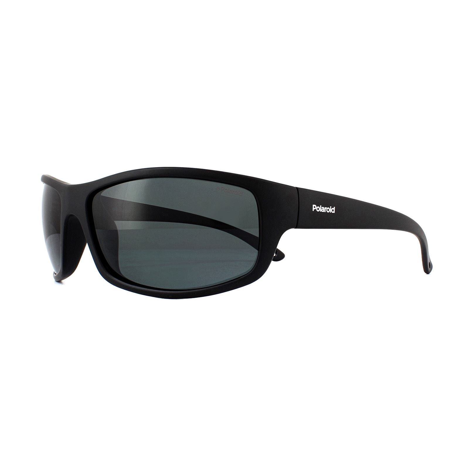 Polaroid Sport Sunglasses PLD 7017/S 807 M9 Black Grey Polarized