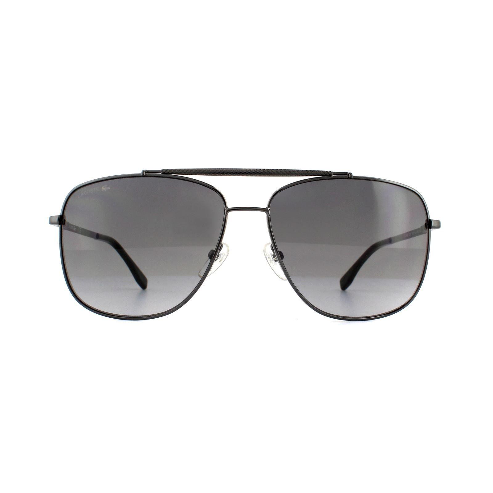 Lacoste Sunglasses L188S 033 Gunmetal Grey Gradient