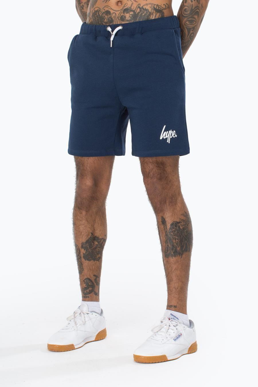 Hype Navy Script Mens Shorts