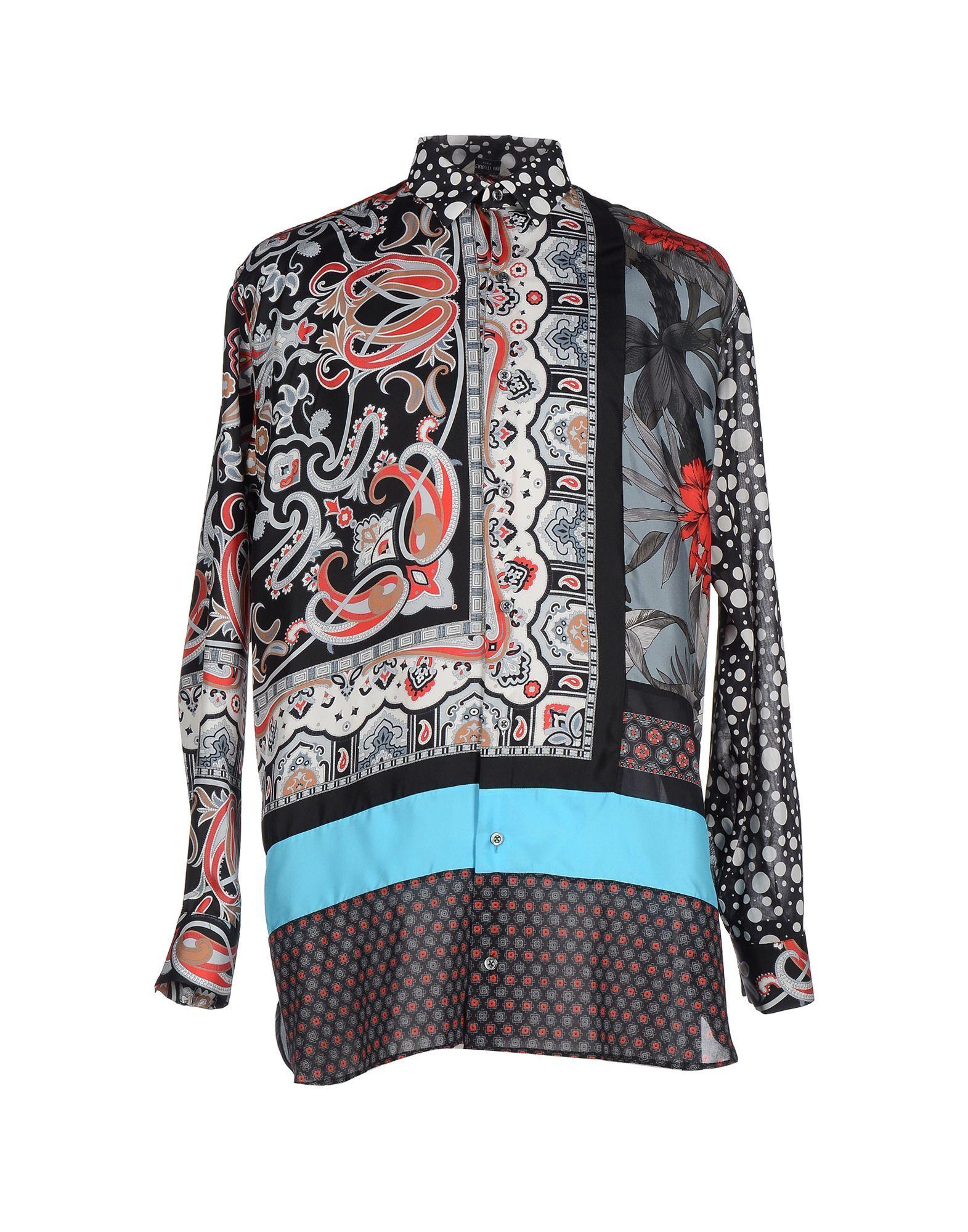 Cerruti 1881 Man Shirts Silk