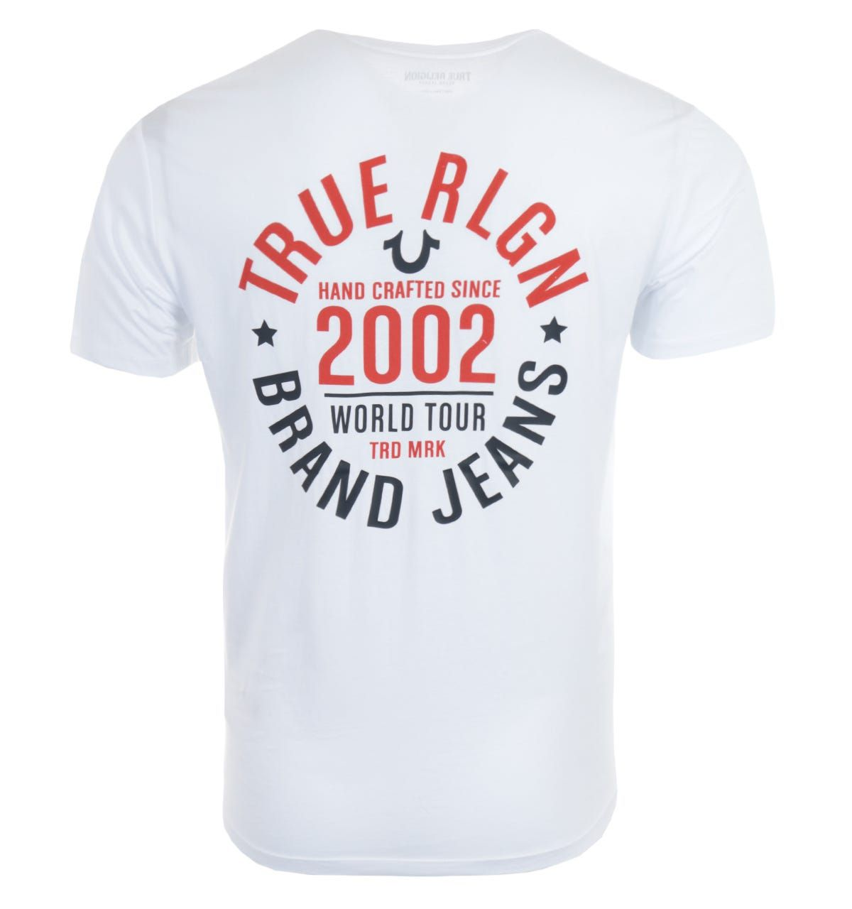 True Religion 2002 Logo T-Shirt - White