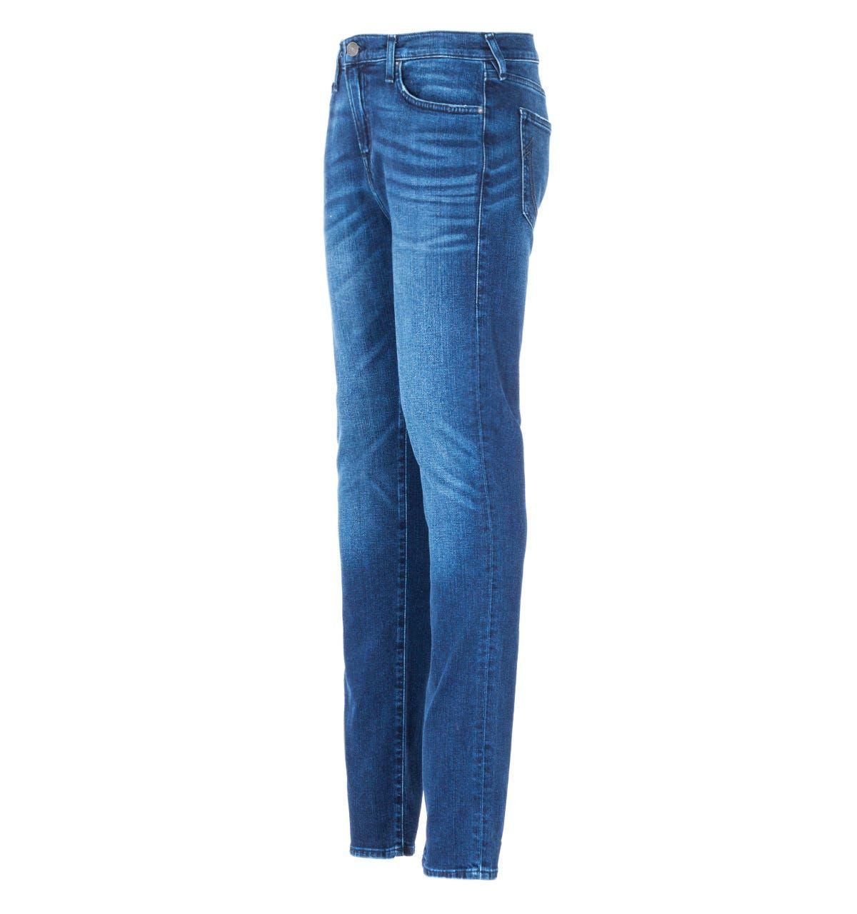 True Religion Rocco Skinny Jeans - Urban Cowboy Blue
