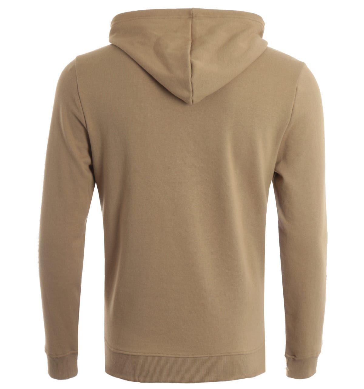 True Religion True Logo Hooded Sweatshirt - Beige