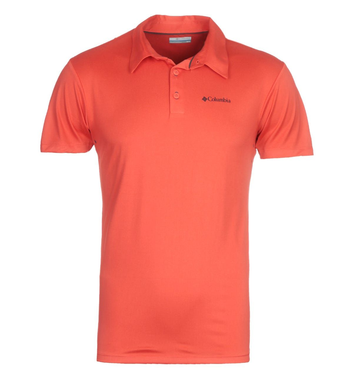 Columbia Triple Canyon Red Tech Polo Shirt