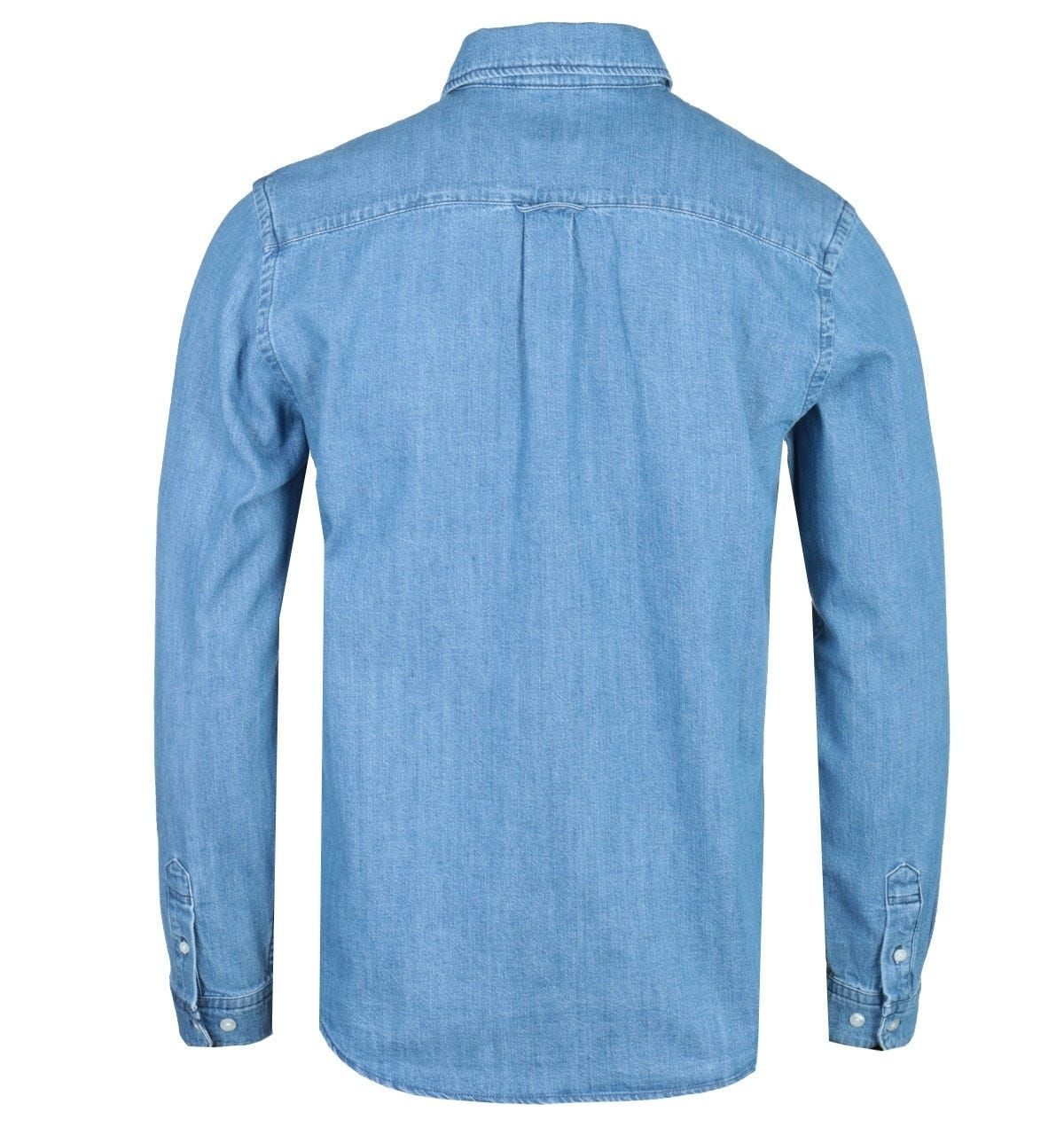 Edwin Better Light Blue Long Sleeve Denim Shirt