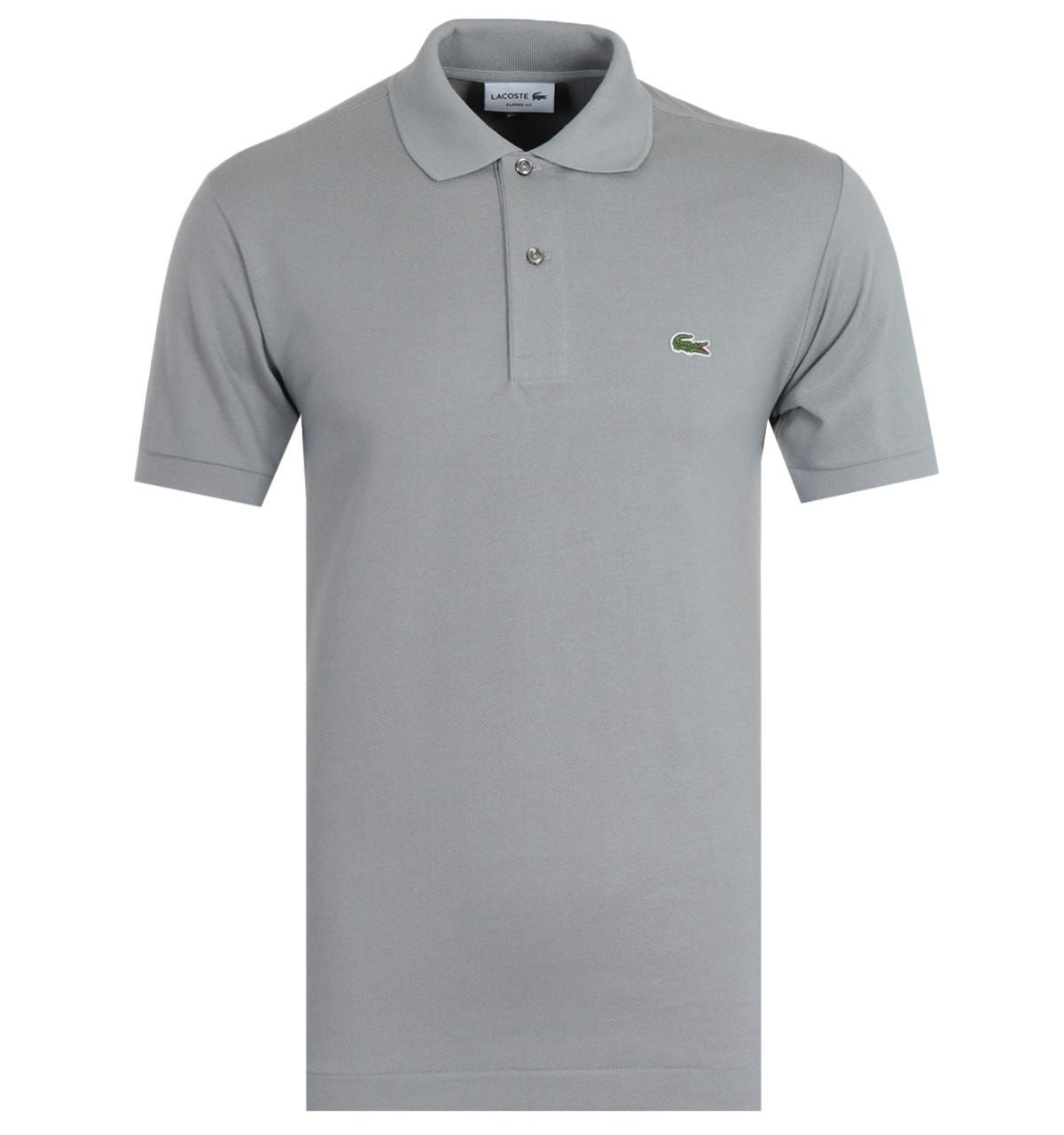 Lacoste Classic Fit Grey Polo Shirt