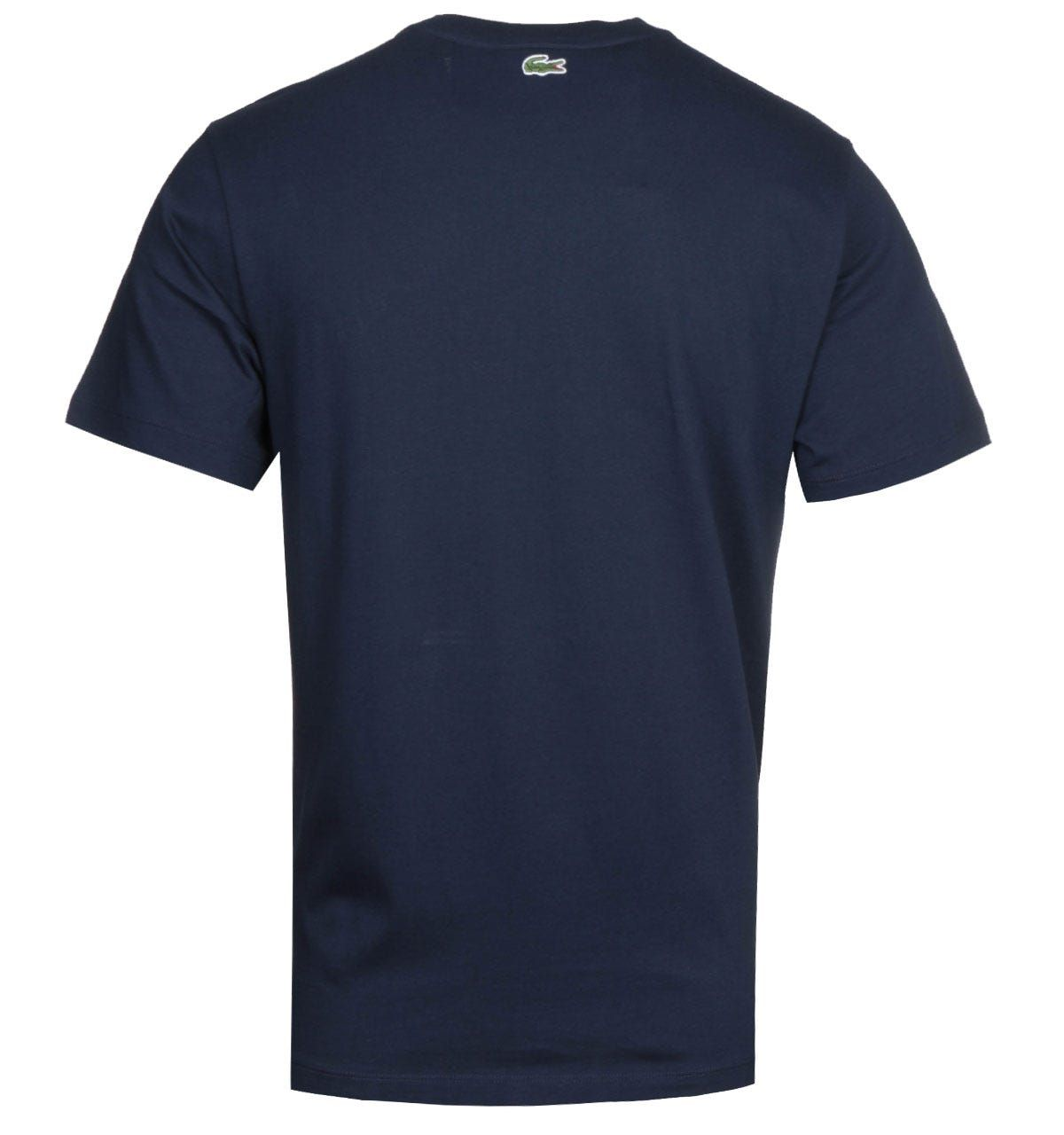 Lacoste Homme Navy Logo T-Shirt