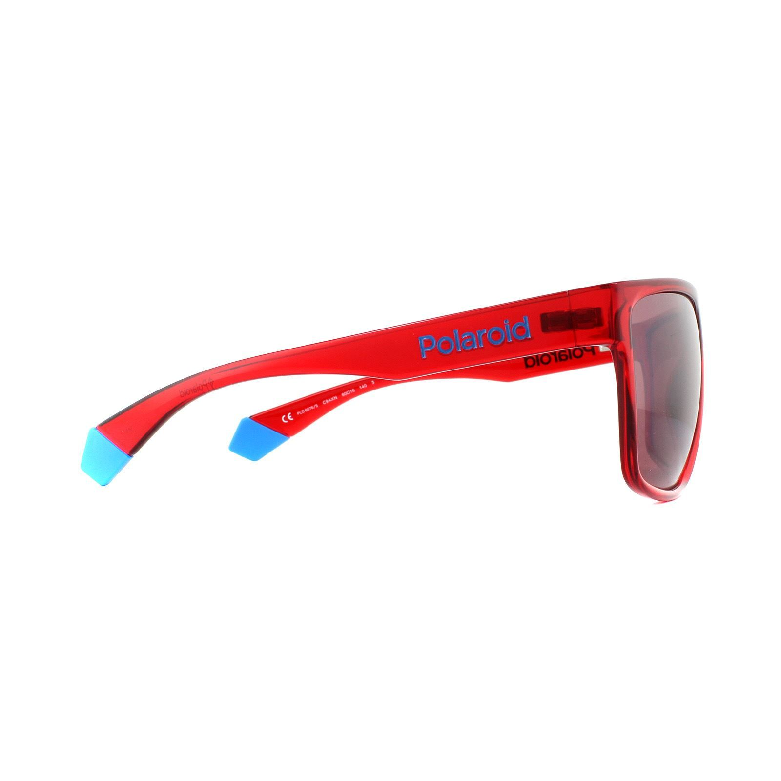 Polaroid Sunglasses PLD 6076/S C9A XN Red Red Polarized