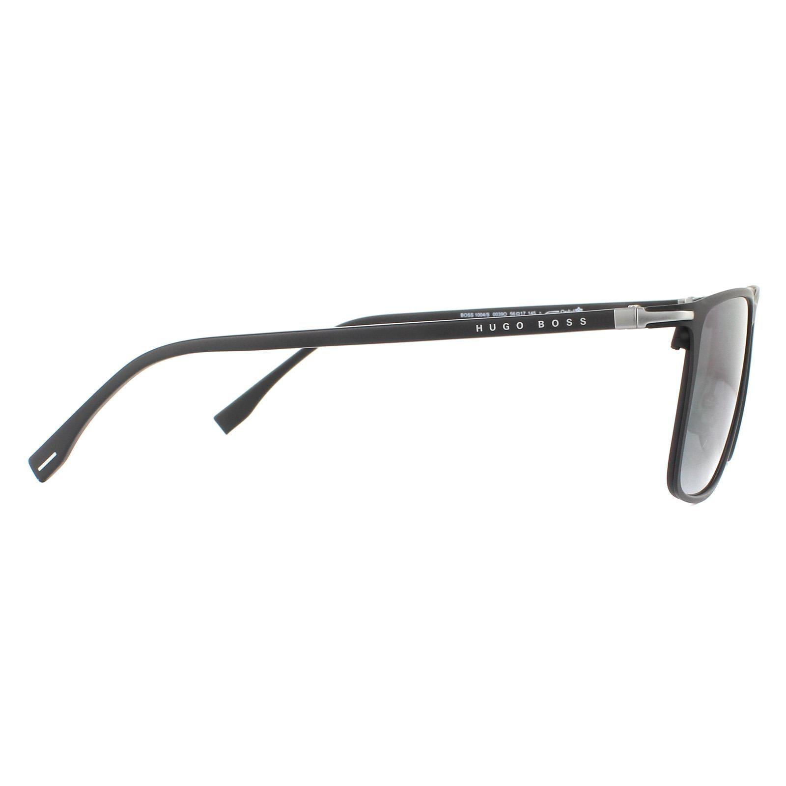 Hugo Boss Sunglasses 1004/S 003 9O Matte Black Grey Gradient