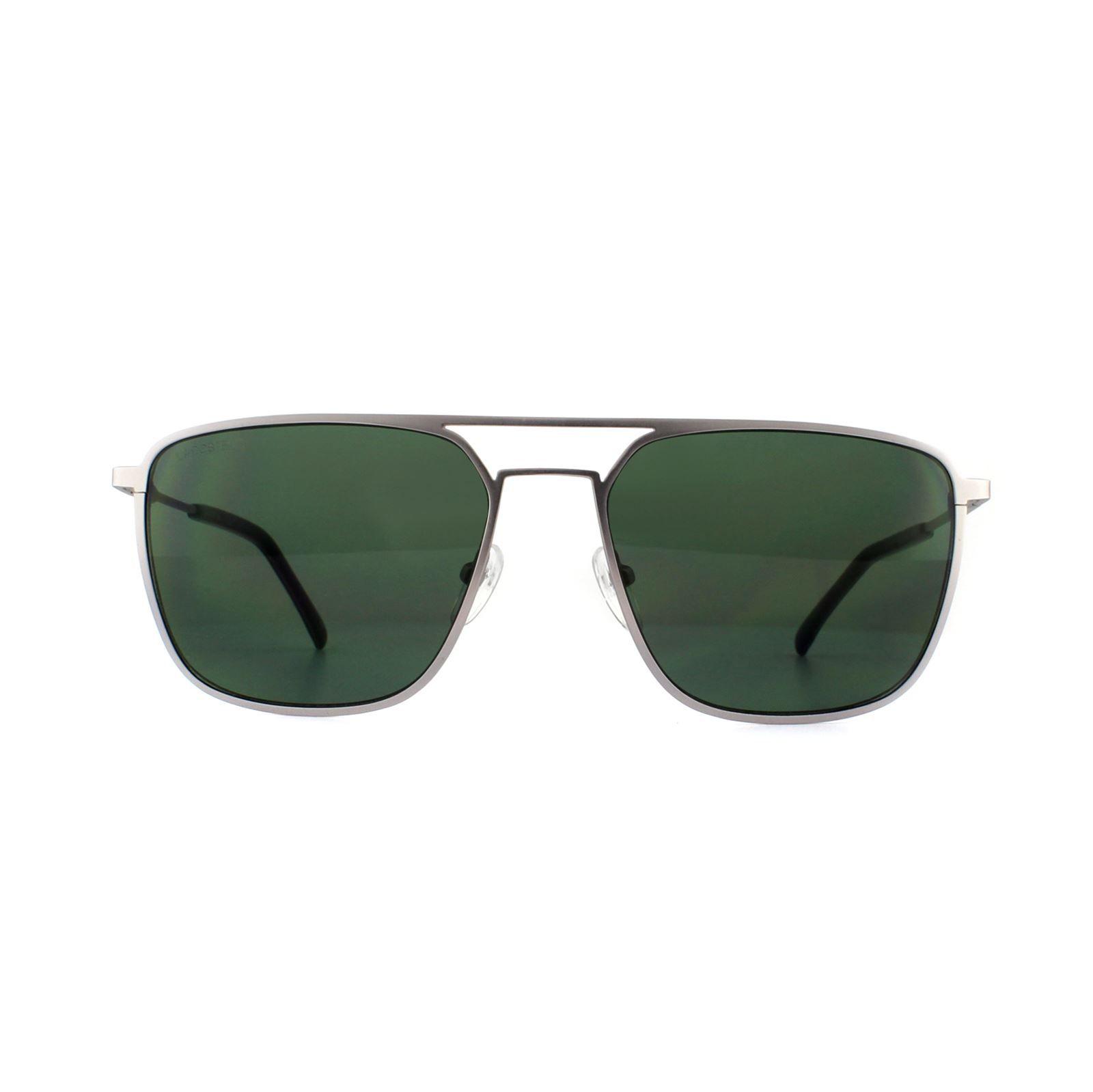 Lacoste Sunglasses L194S 035 Silver Green