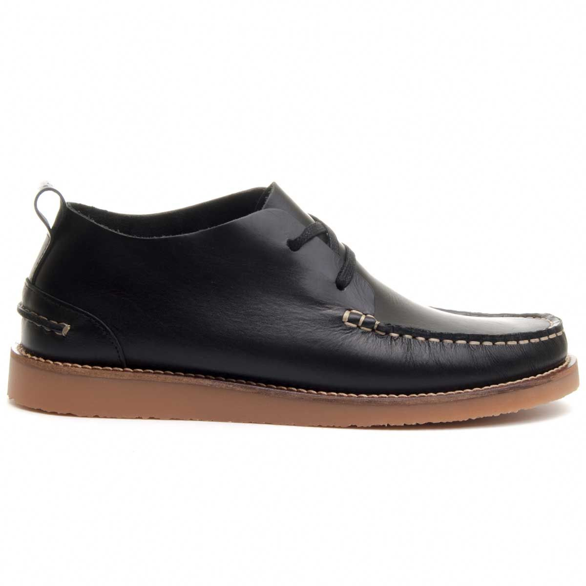Purapiel Chukka Boot in Black