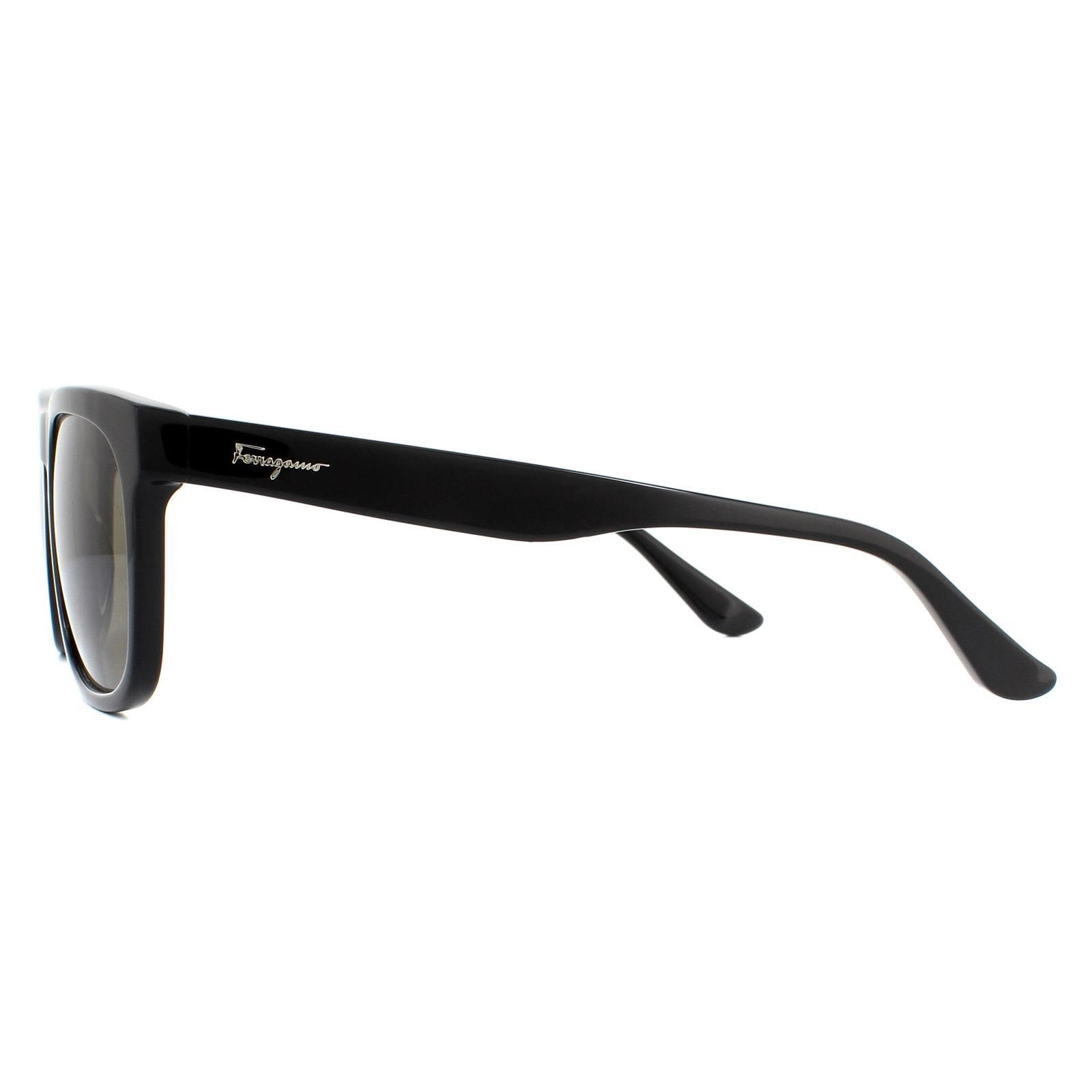 Salvatore Ferragamo Sunglasses SF776S 001 Black Grey