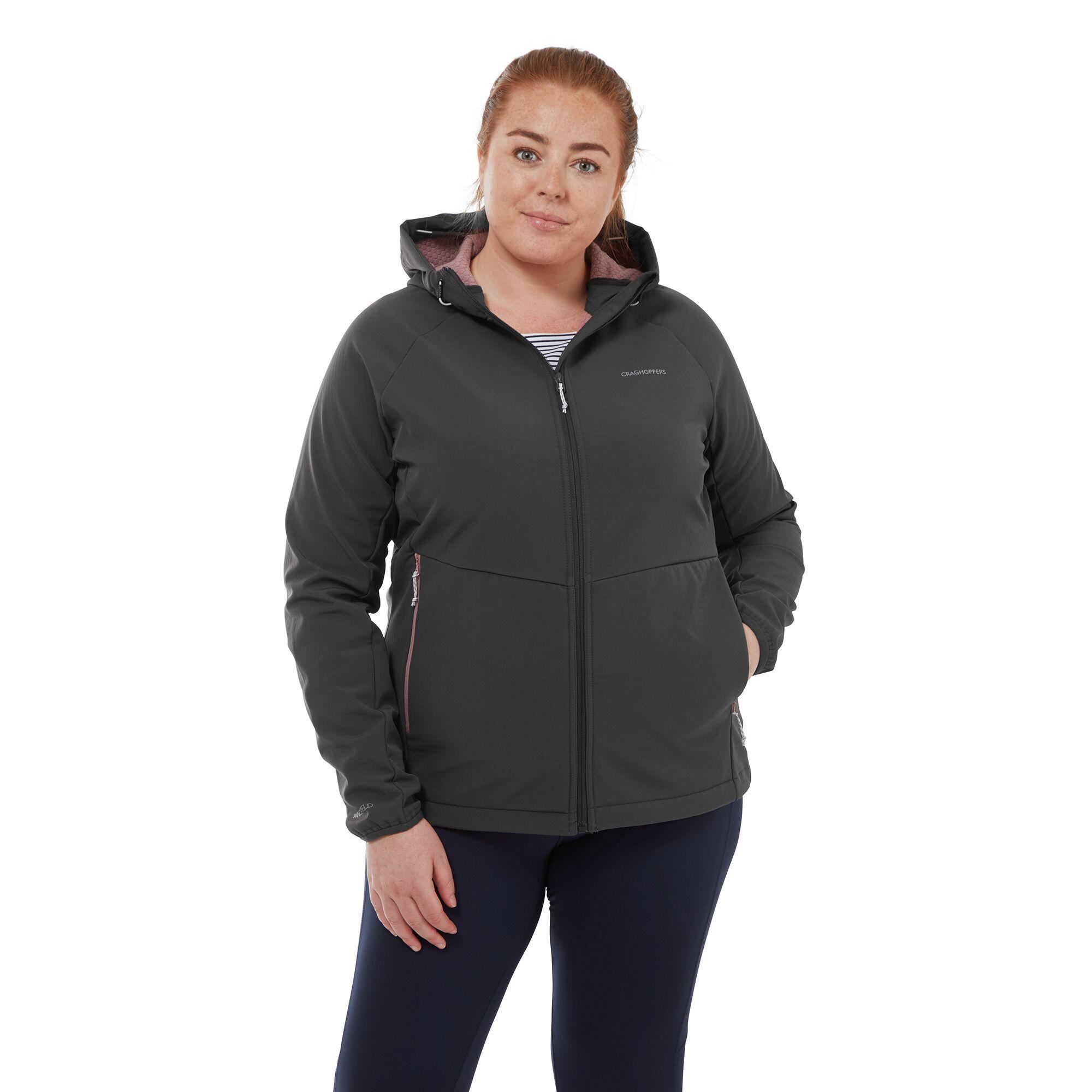 Craghoppers Womens/Ladies Kalti Hooded Jacket (Charcoal)