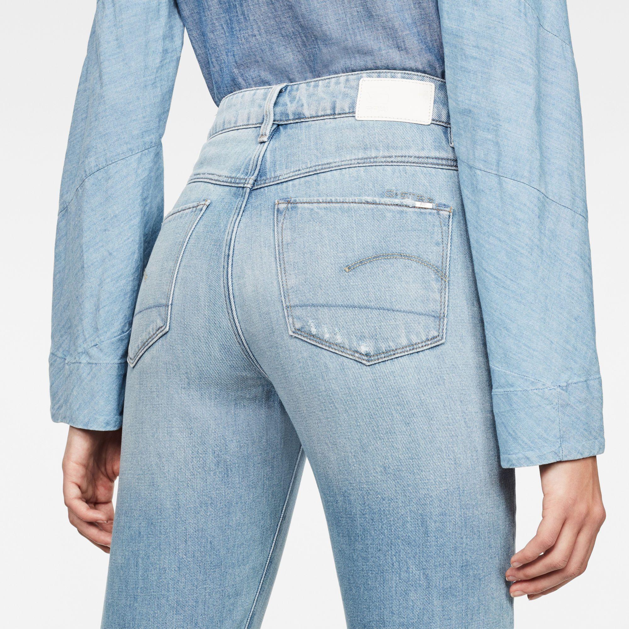 G-Star RAW 3301 Ultra-High Waist Skinny 7/8 3D-Restored Jeans
