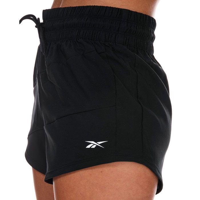 Women's Reebok Workout Ready Shorts in Black