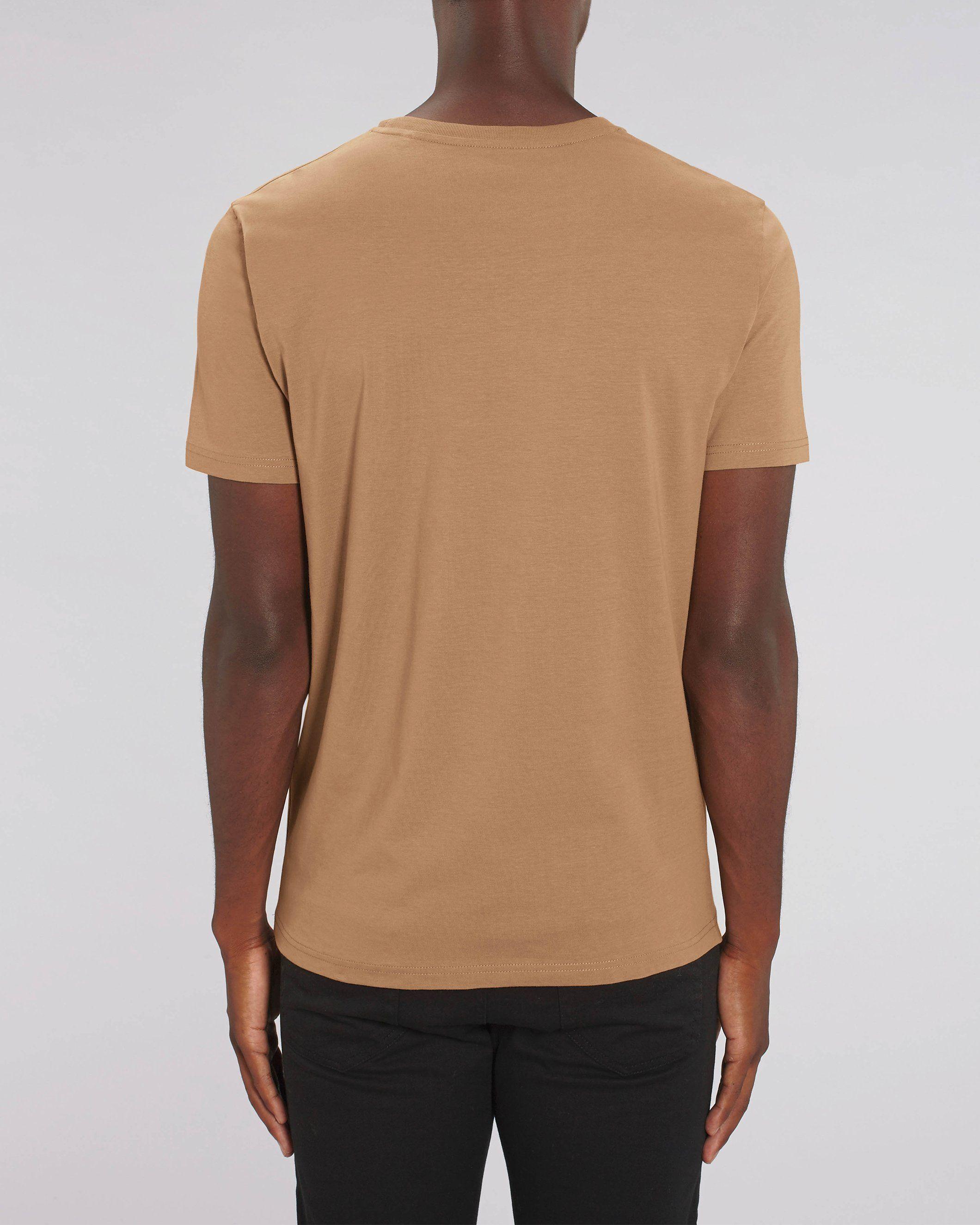 Nauli Unisex Regular Fit T-Shirt in Camel