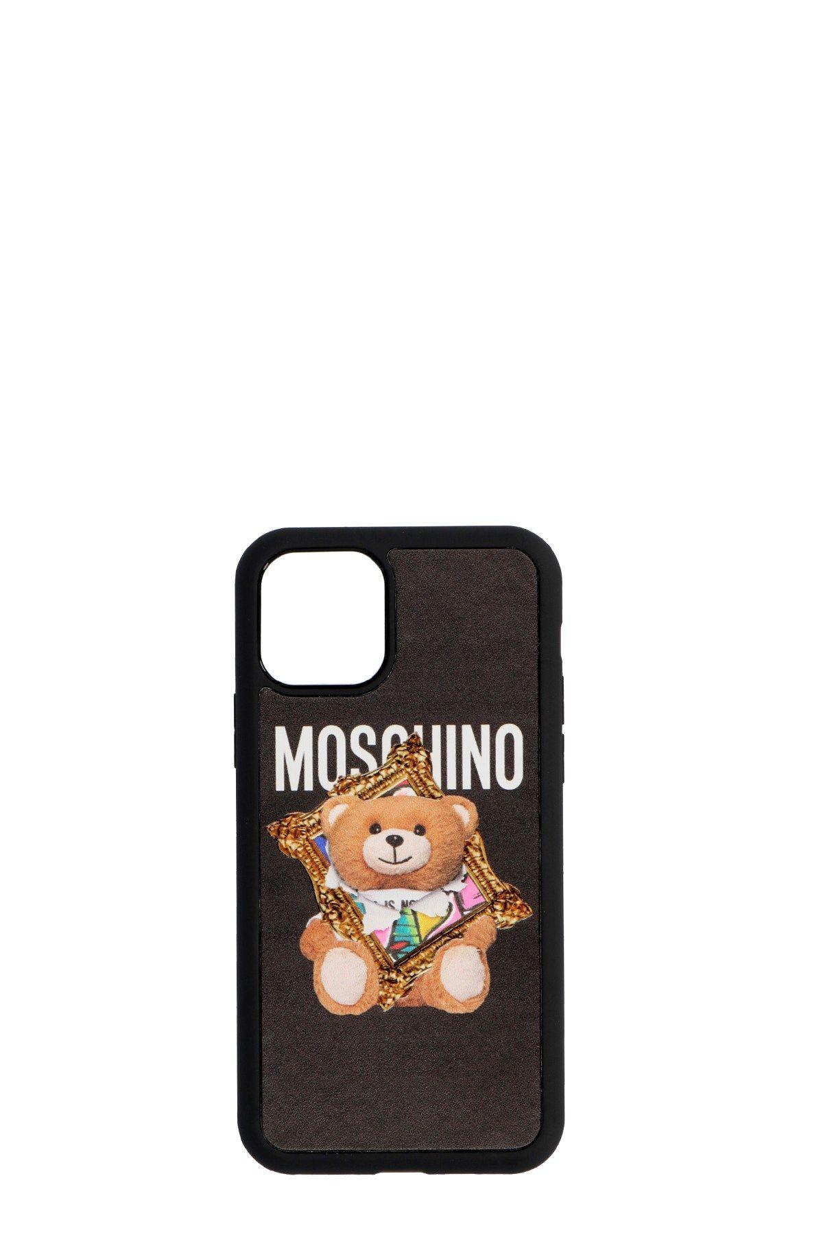 MOSCHINO WOMEN'S A791883121555 BLACK PVC COVER