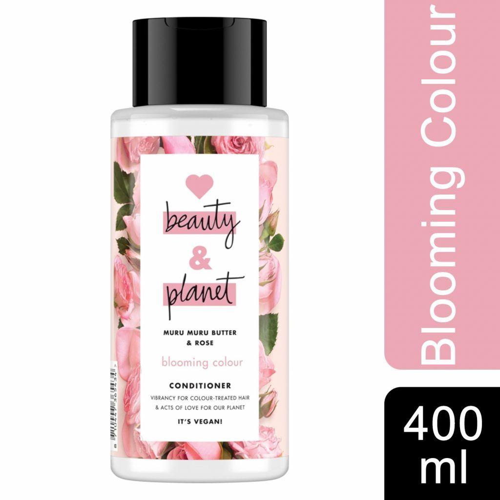 Love Beauty & Planet Blooming Colour Muru Muru Butter & Rose Conditioner 400ml (Pack of 3)