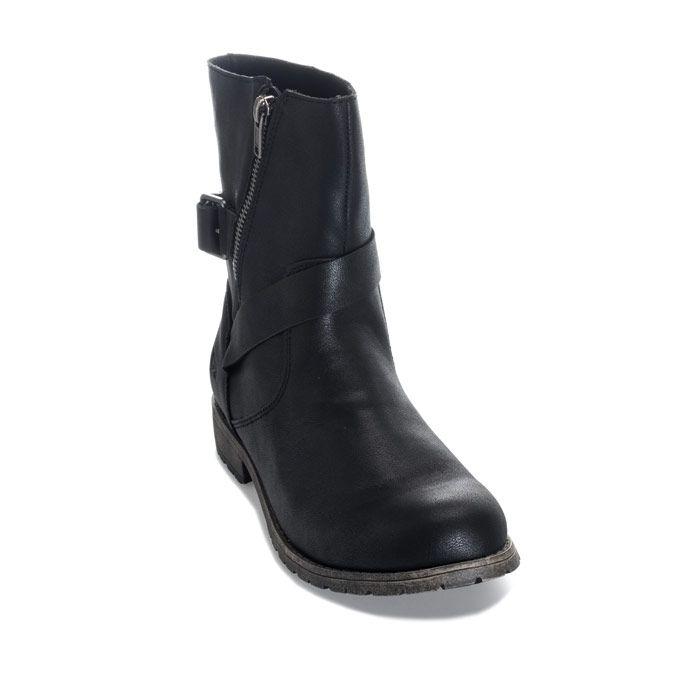 Women's Rocket Dog Blume Lewis Boots in Black