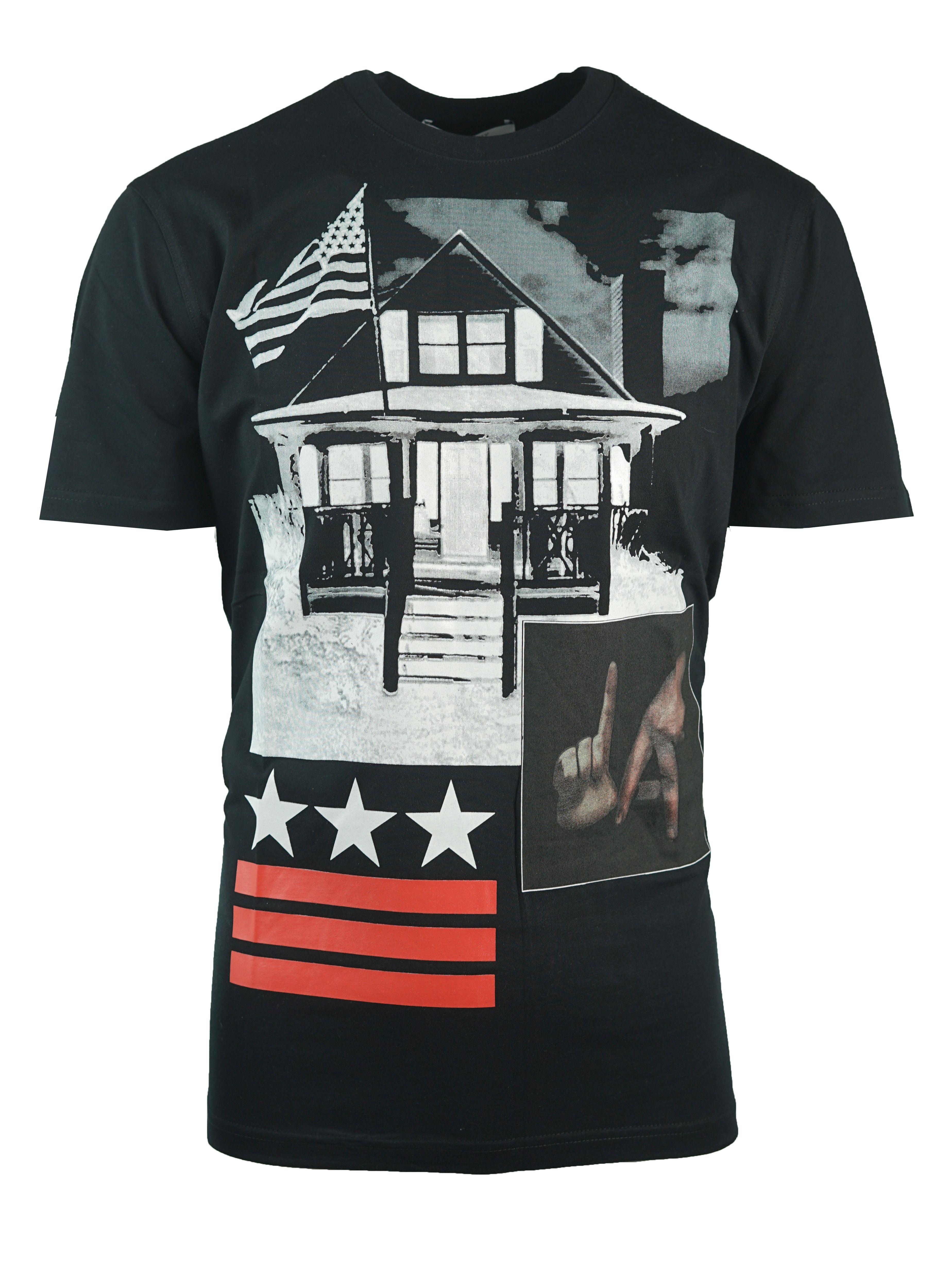 Givenchy BM703Q3Y0Q 001 Mens T-Shirt