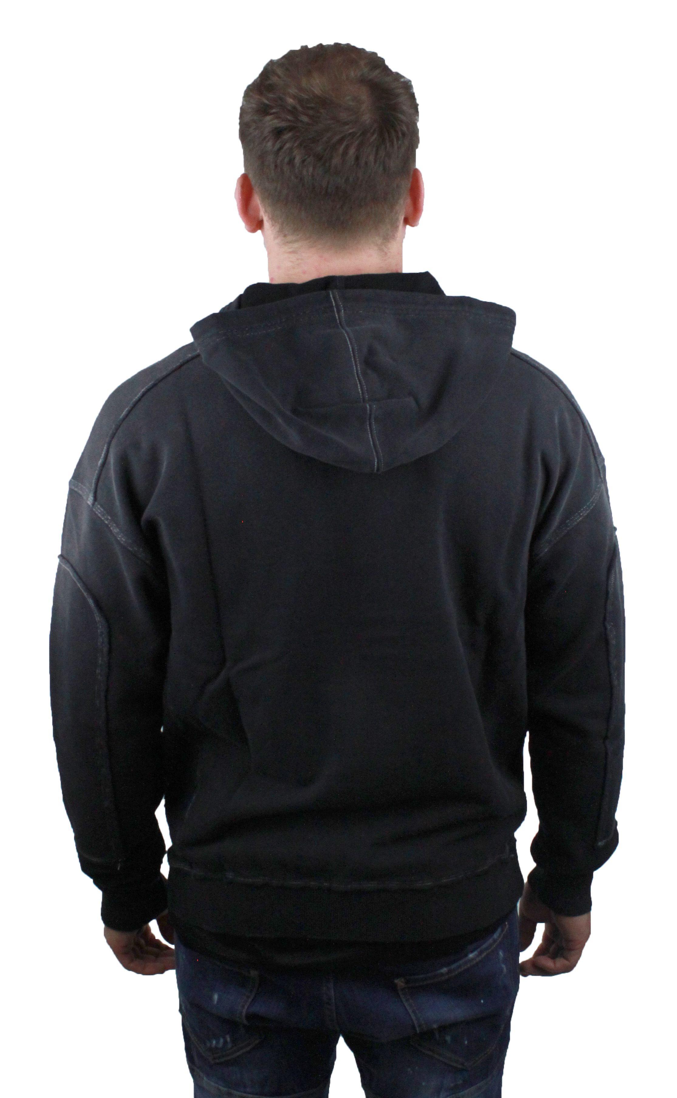 Givenchy BM708P3003 001 Mens Black Hoodie