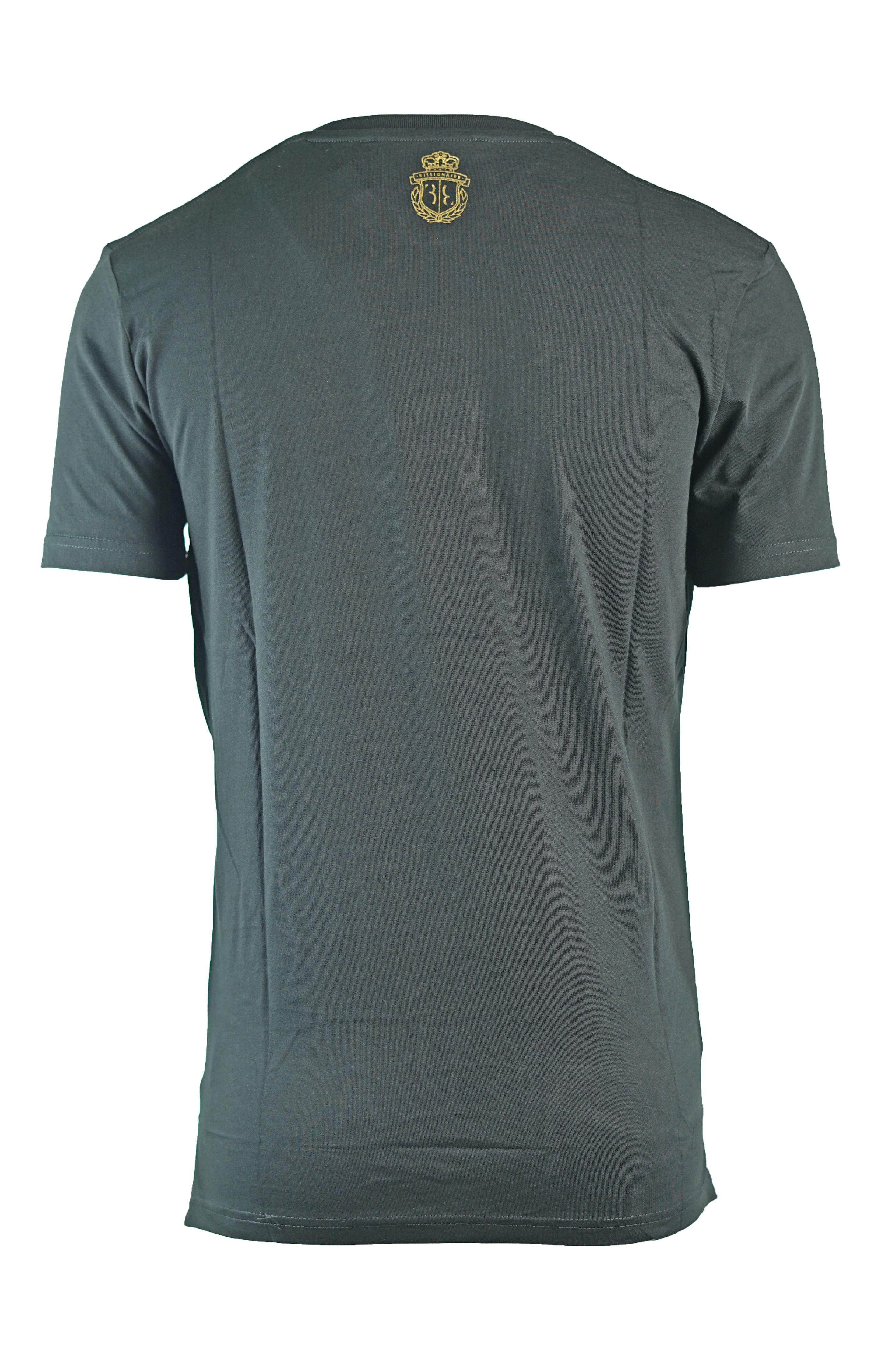 "Billionaire ""10"" MTK0429 X999 Black T-Shirt"