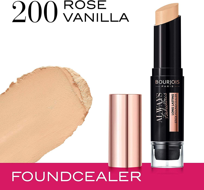 Bourjois Always Fabulous Long Lasting Stick Foundcealer - 200 Rose Vanilla