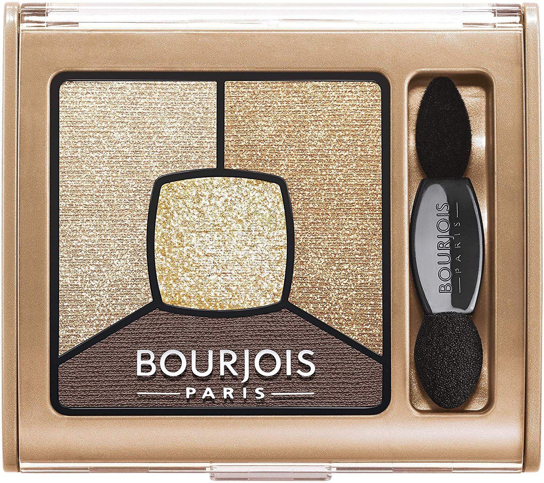 Bourjois Paris Smoky Stories Quad Eyeshadow Palette 3.2g - 16 I Gold It