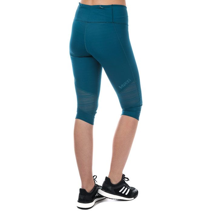 Women's adidas Supernova 3 Quarter Tights in Blue